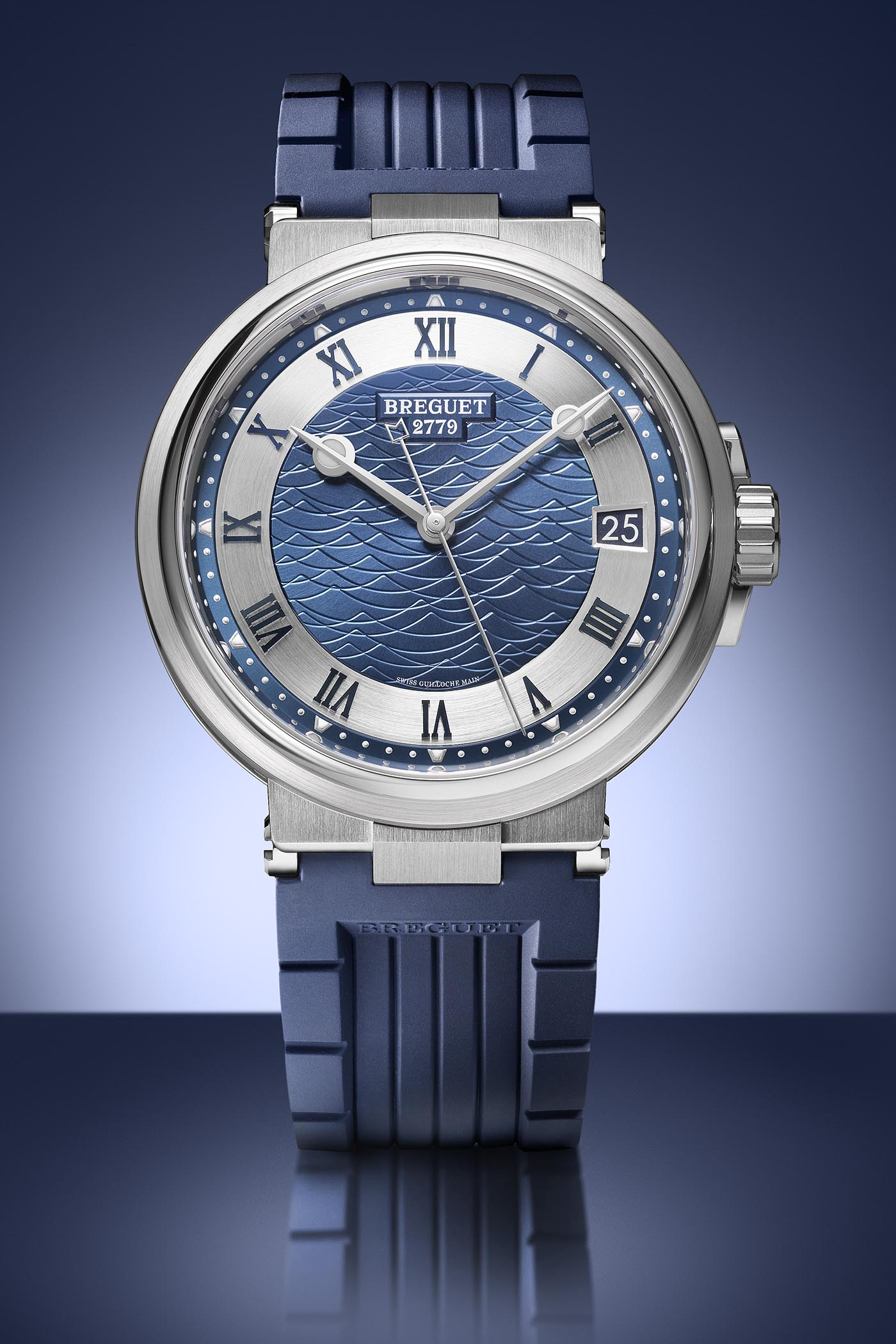 Breguet Marine 5517 Bucherer Blue Editions - 1