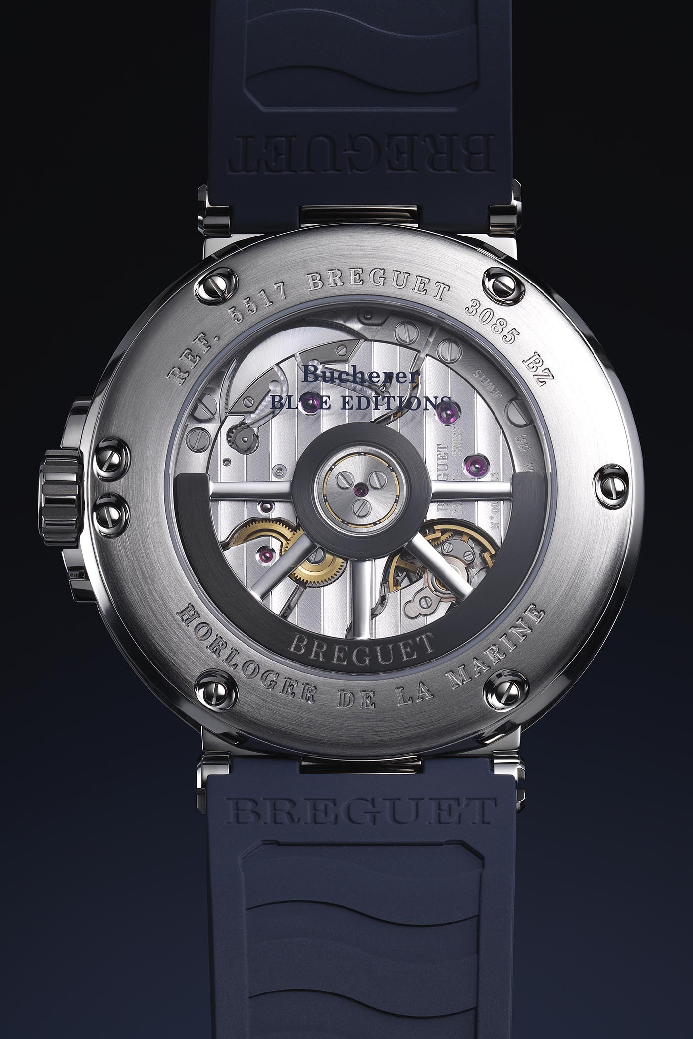 Breguet Marine 5517 Bucherer Blue Editions - 2