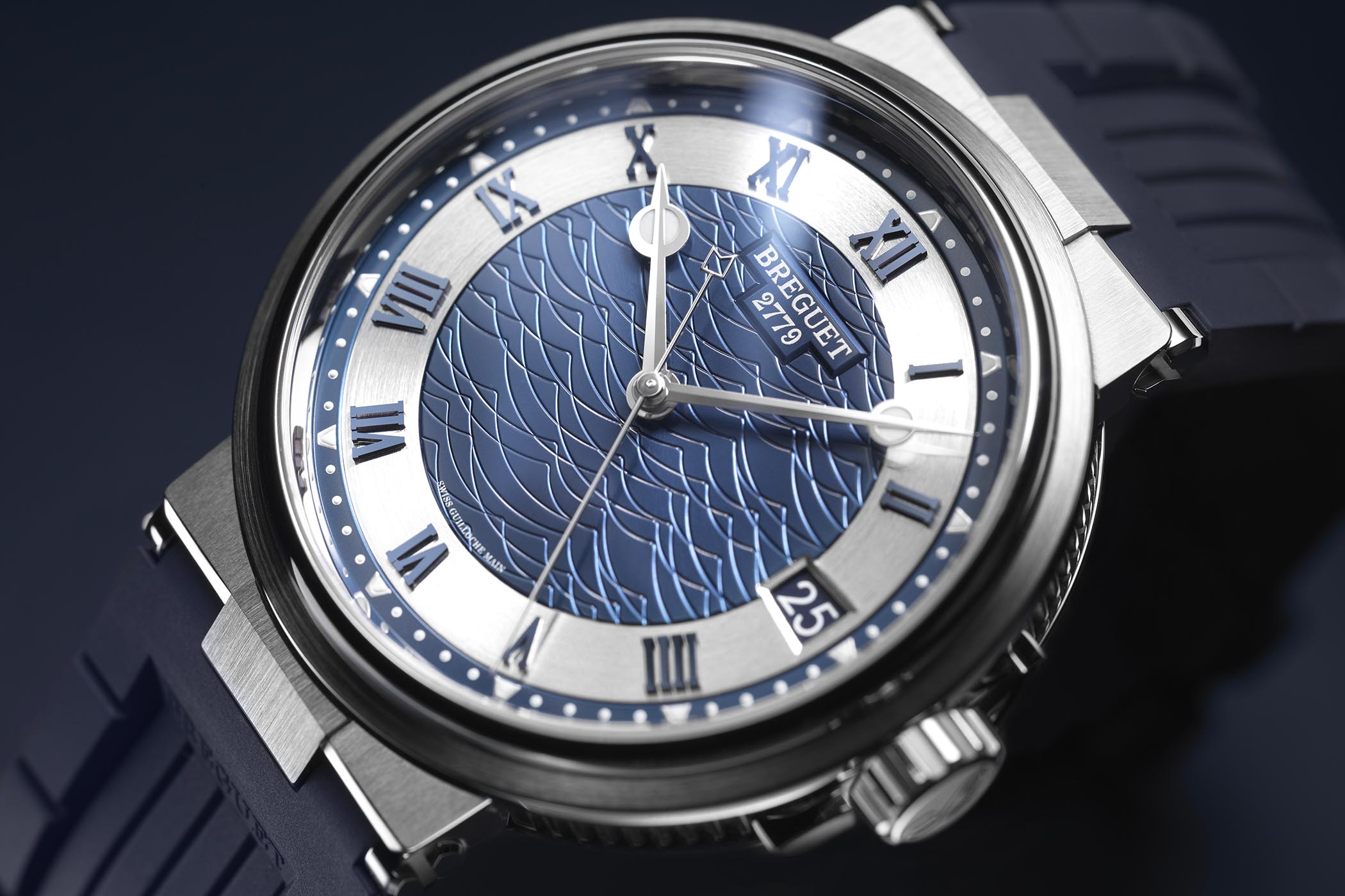 Breguet Marine 5517 Bucherer Blue Editions - 6