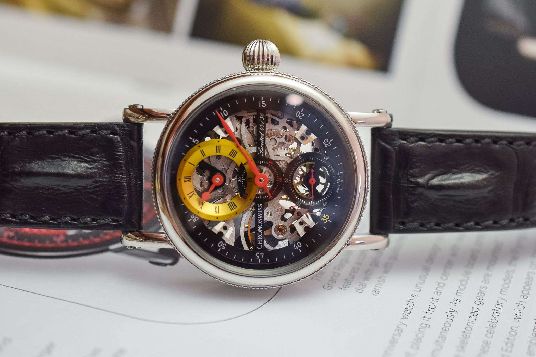 Chronoswiss Flying Grand Regulator Skeleton 2019 Limited Edition