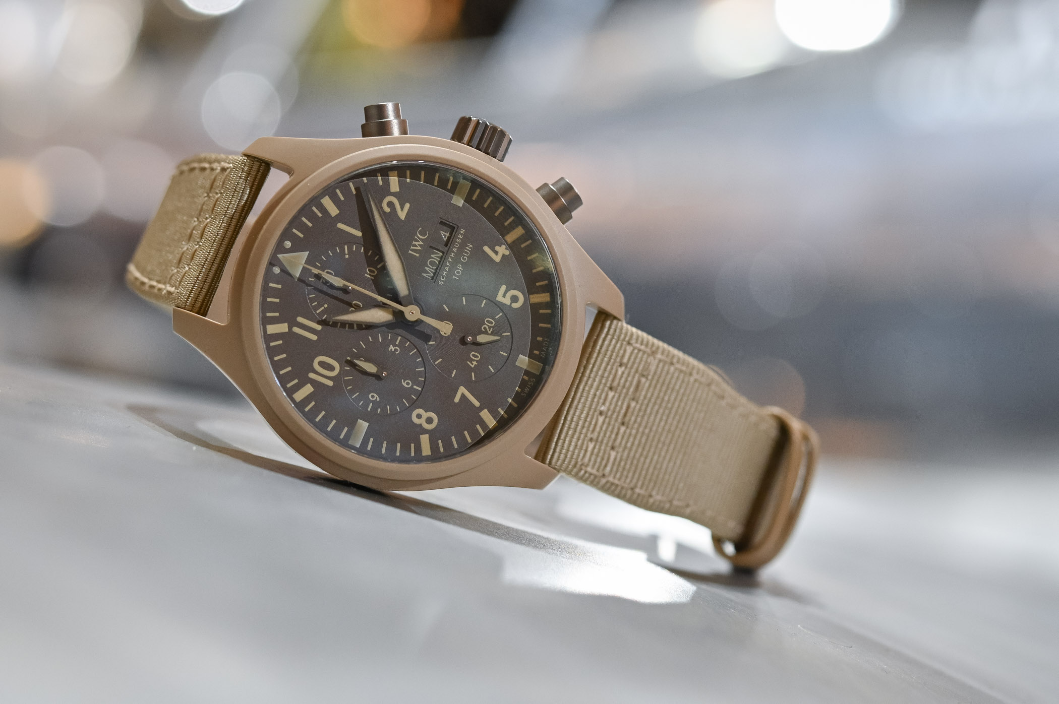 IWC Pilot's Watch Chronograph TOP GUN Edition Mojave Desert IW389103