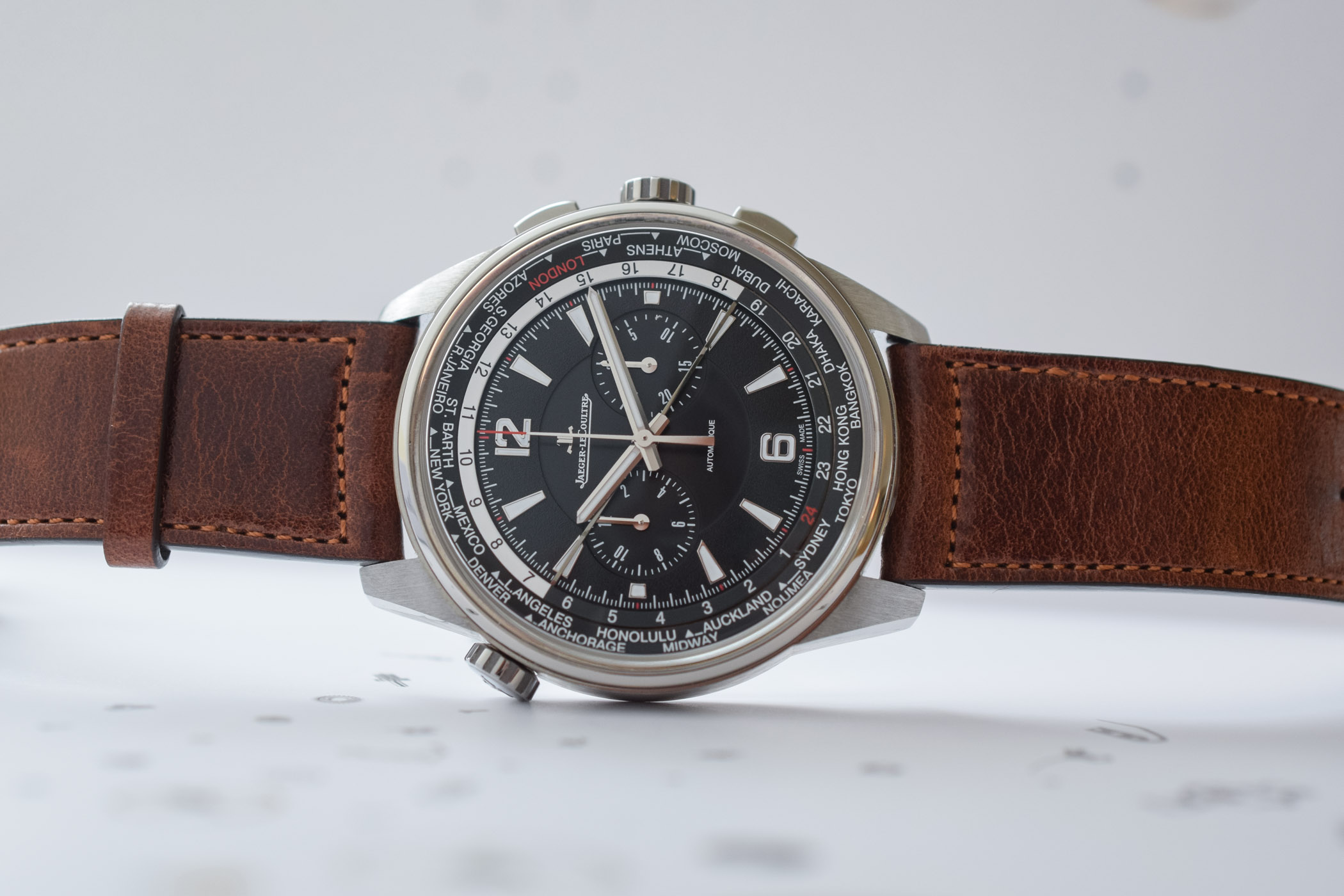 Jaeger-LeCoultre Polaris Chronograph WorldTimer - Review - 5