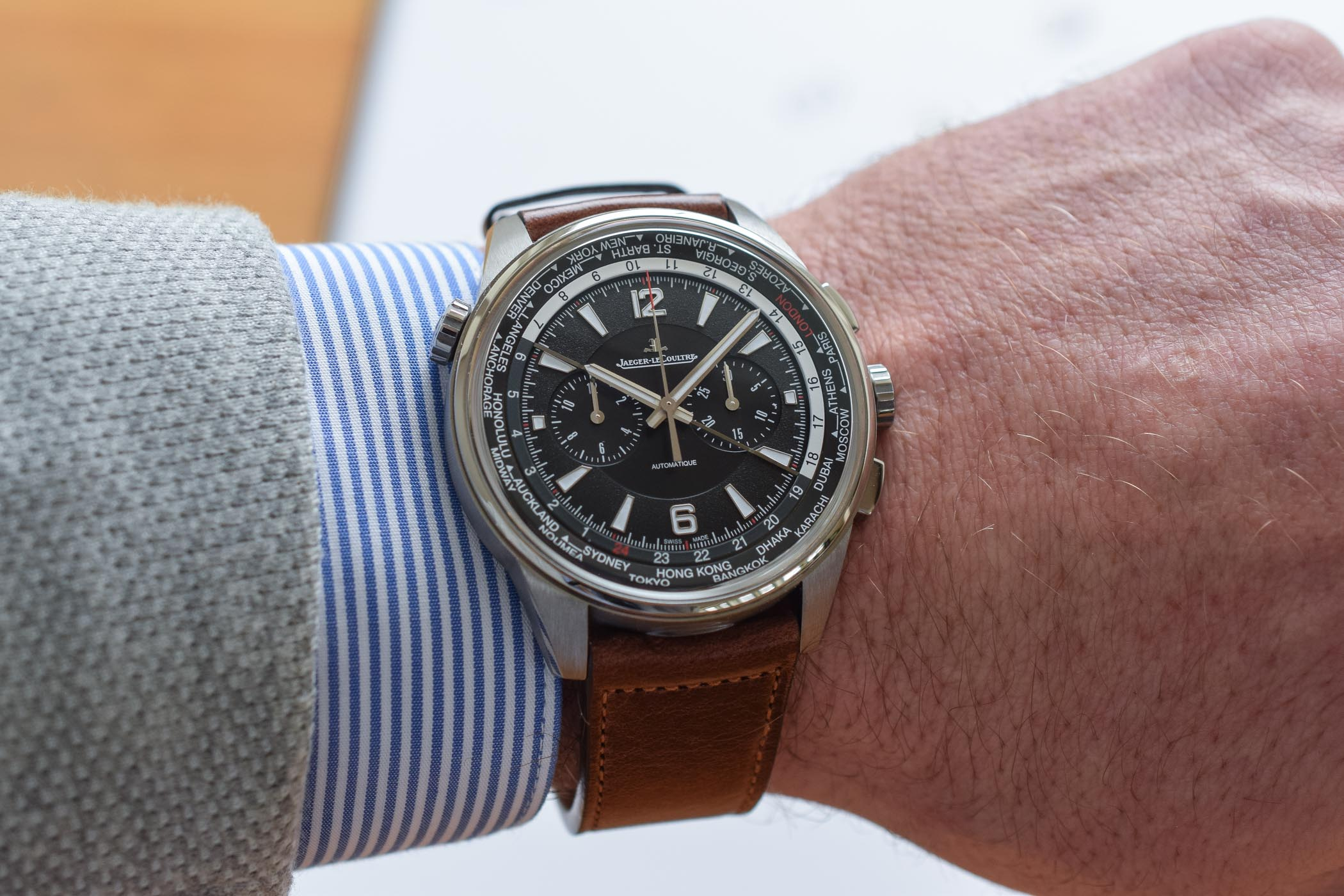 Jaeger-LeCoultre Polaris Chronograph WorldTimer - Review - 6