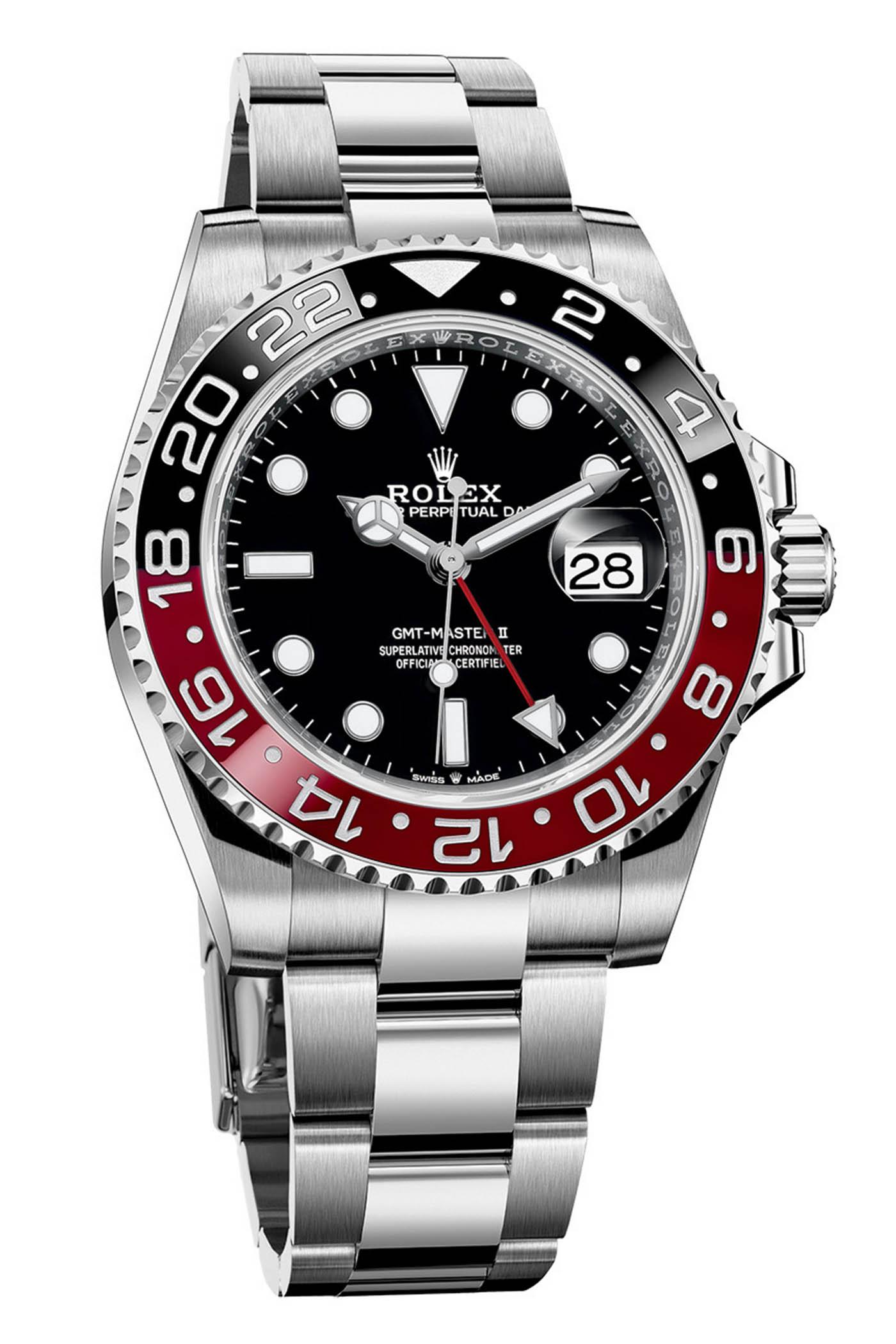 Rolex GMT Master II Coke Black-red Bezel Jubilee Calibre 3285 ref 126710RONR - Rolex Baselworld 2019 - Rolex 2019 Predictions