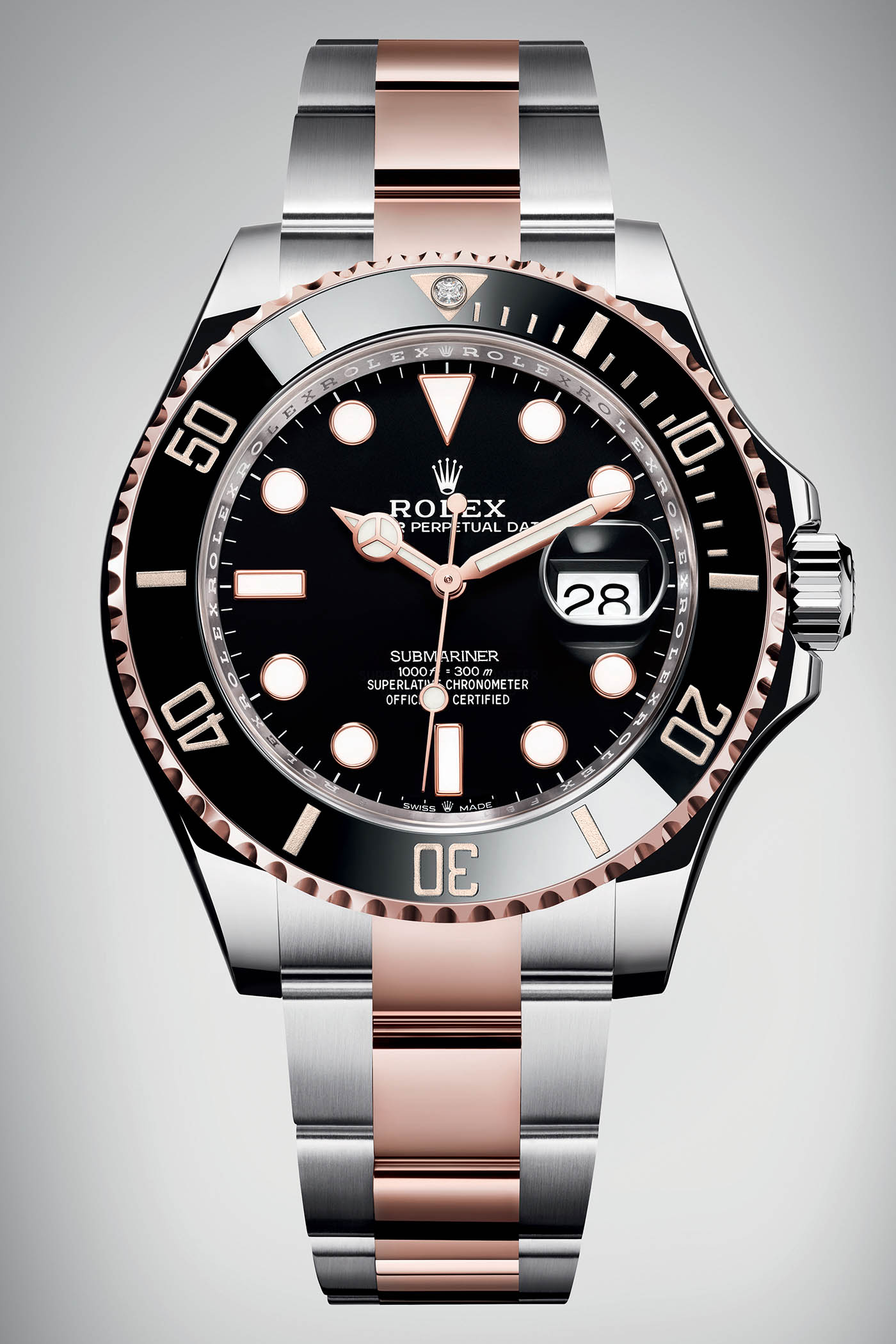 Rolex Submariner 36 Rolesor Everose - Rolex Baselworld 2019 - Rolex 2019 Predictions