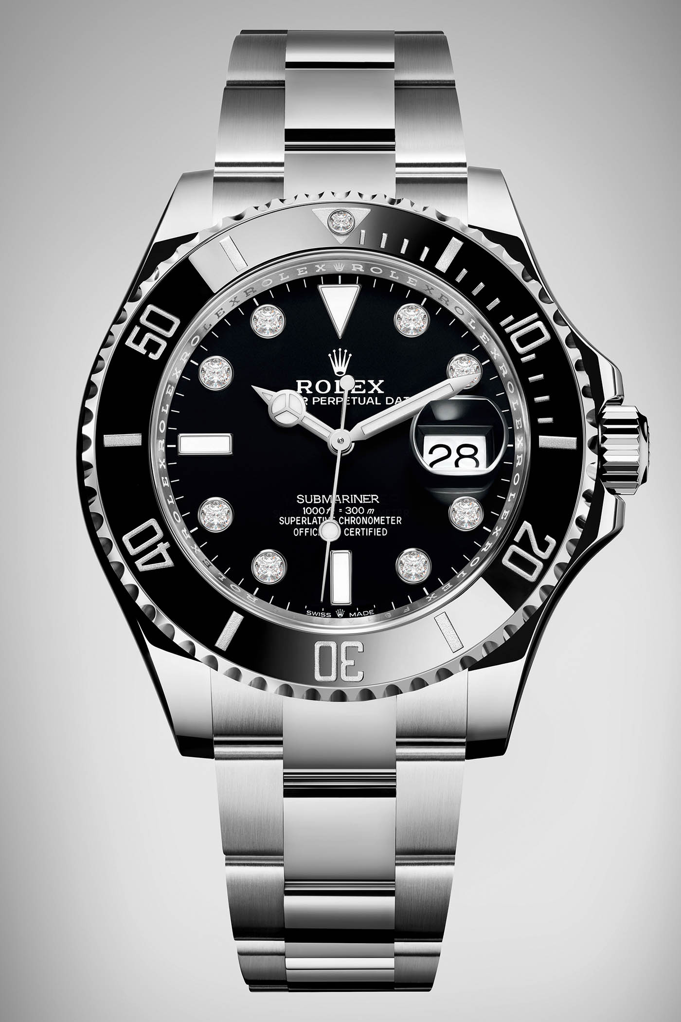 Rolex Submariner 36 Steel diamonds - Rolex Baselworld 2019 - Rolex 2019  Predictions 1de5f70b9