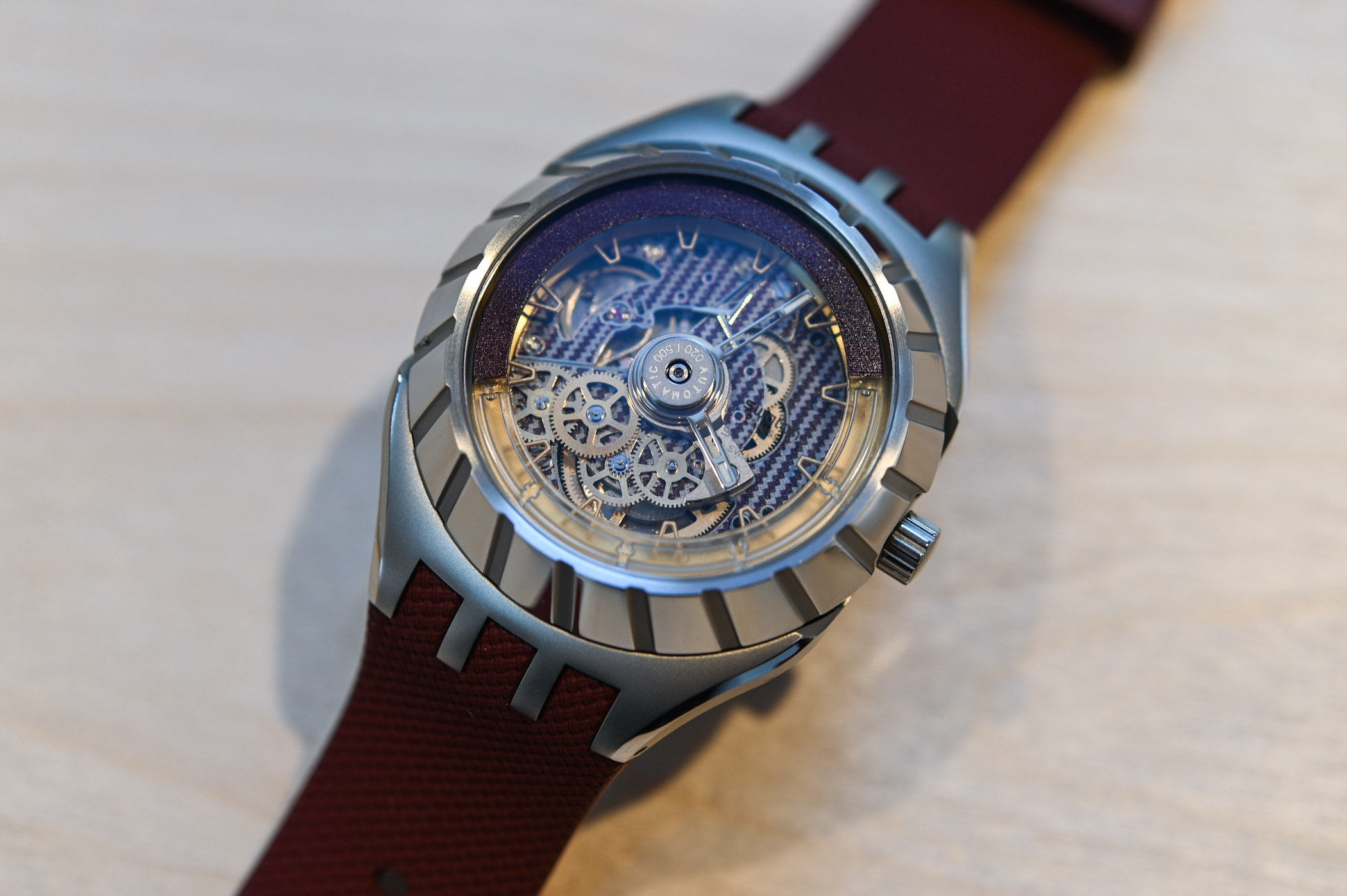 Swatch Flymagic First Watch with Nivachron Hairspring - 41
