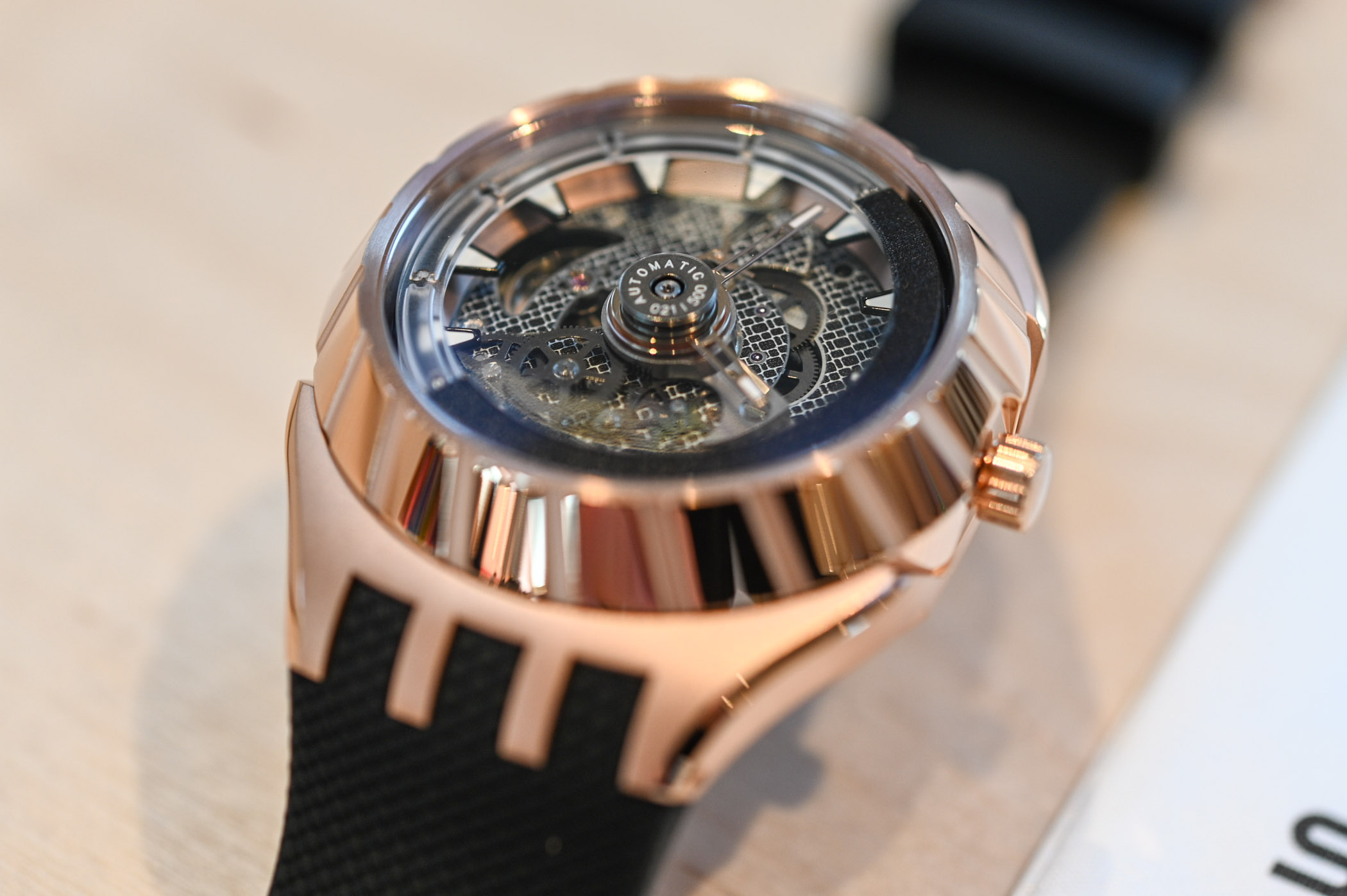Swatch Flymagic First Watch with Nivachron Hairspring - 42