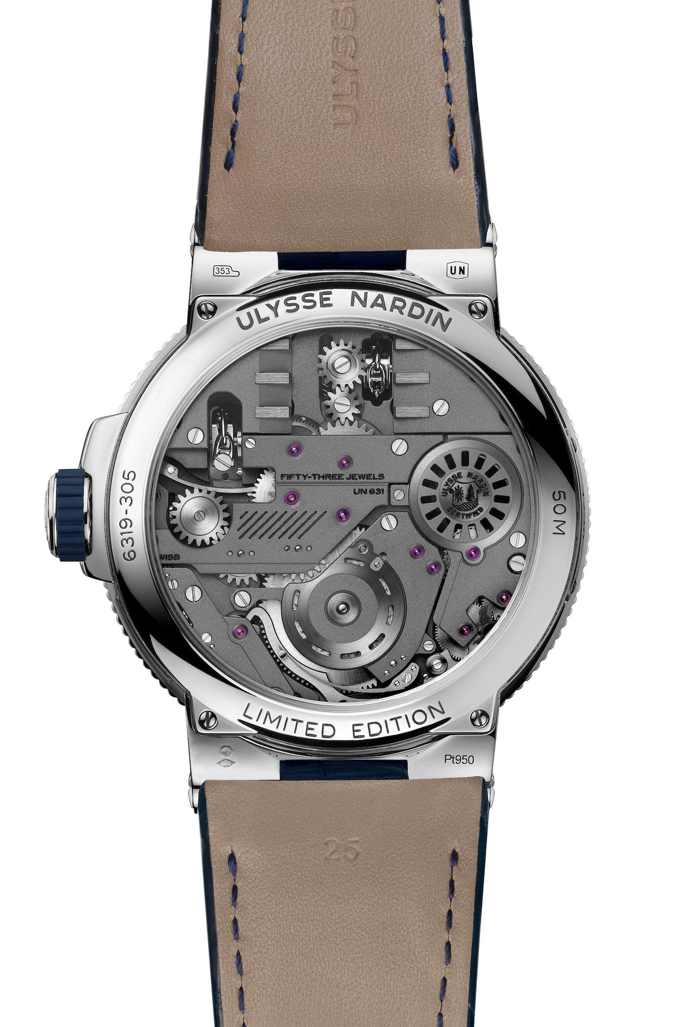 Ulysse Nardin Marine Mega Yacht Watch - 2