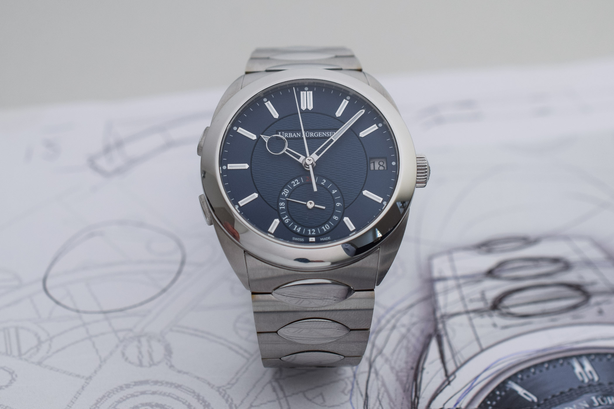 Urban Jurgensen First Luxury Sports Watch - Jurgensen One Collection - 10