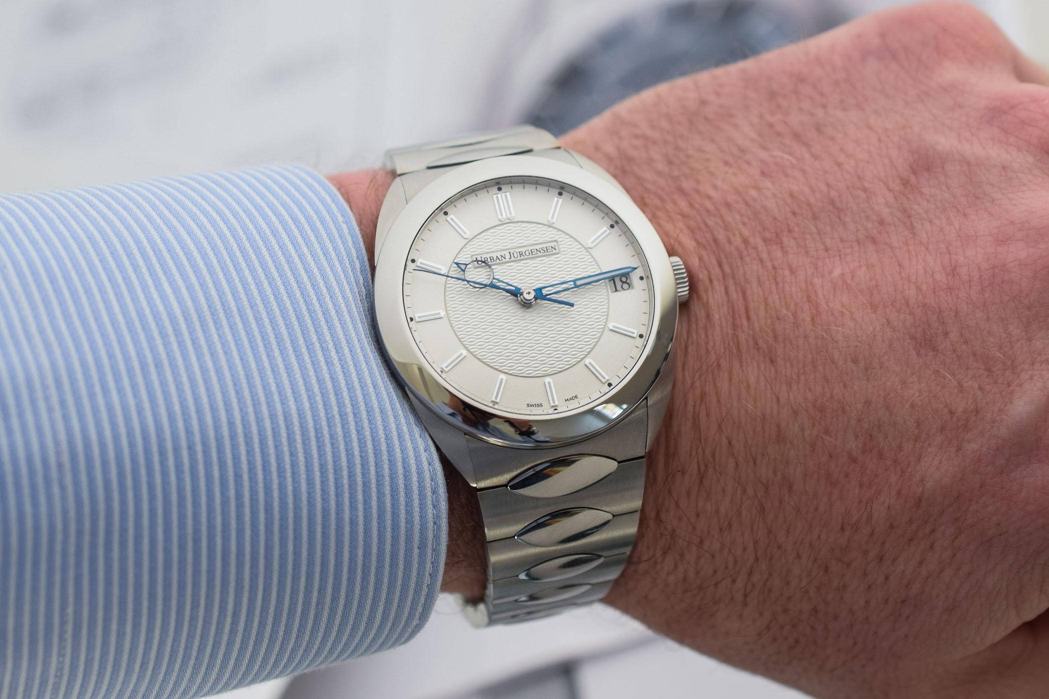 Urban Jurgensen First Luxury Sports Watch - Jurgensen One Collection - 12