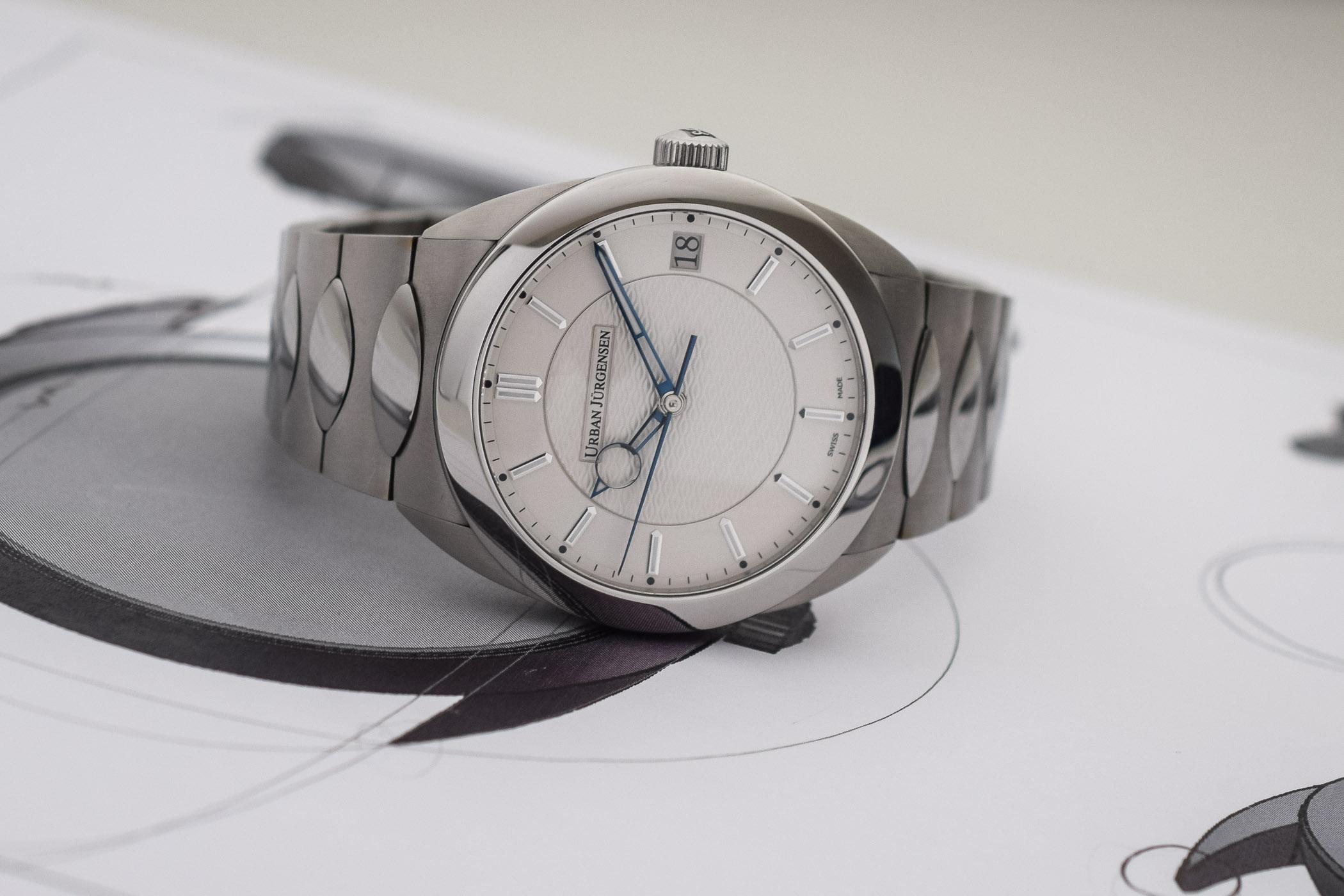 Urban Jurgensen First Luxury Sports Watch - Jurgensen One Collection - 15