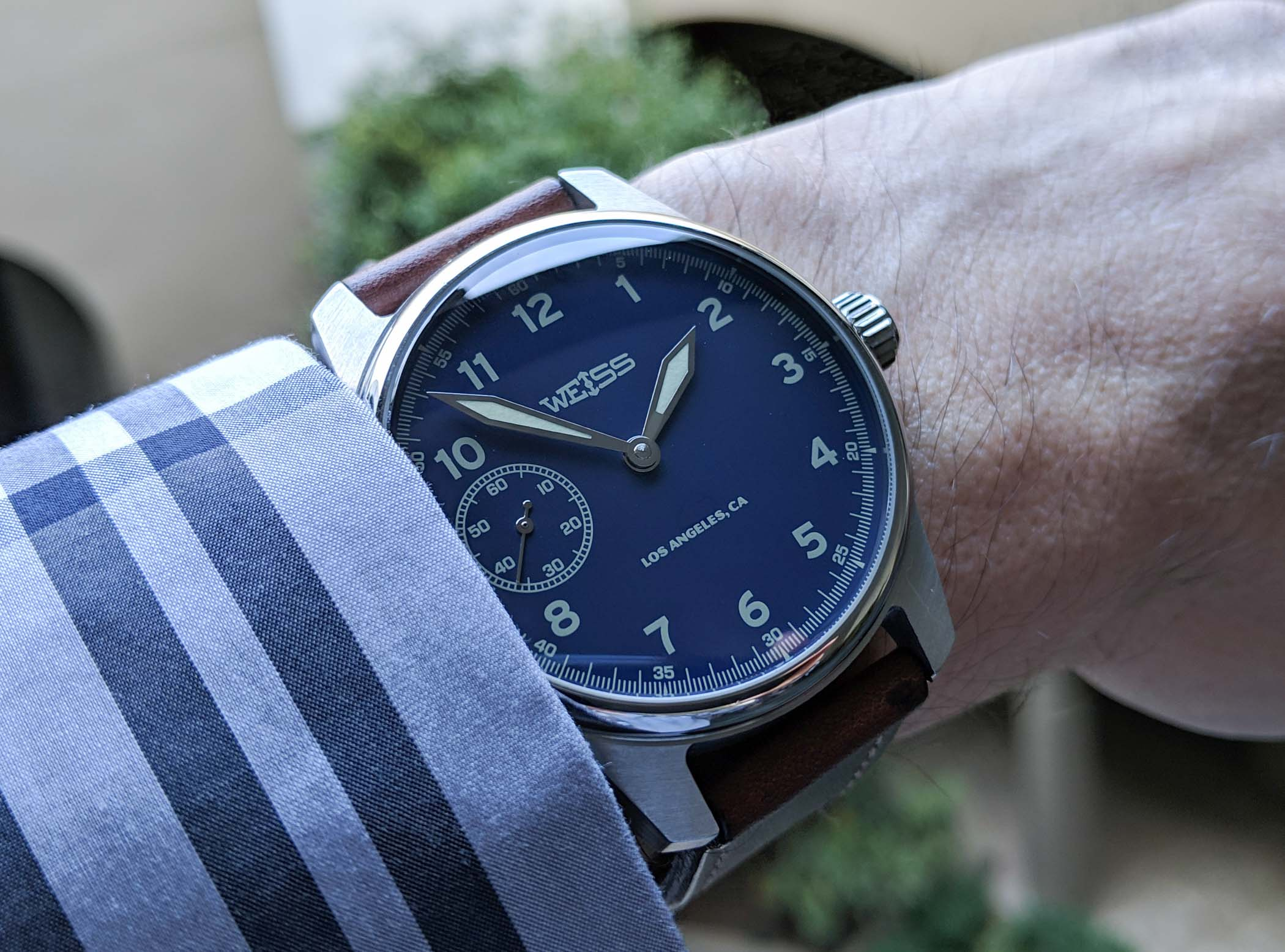 Weiss 42mm Limited American Issue Field Watch – American-Made Movement - 3