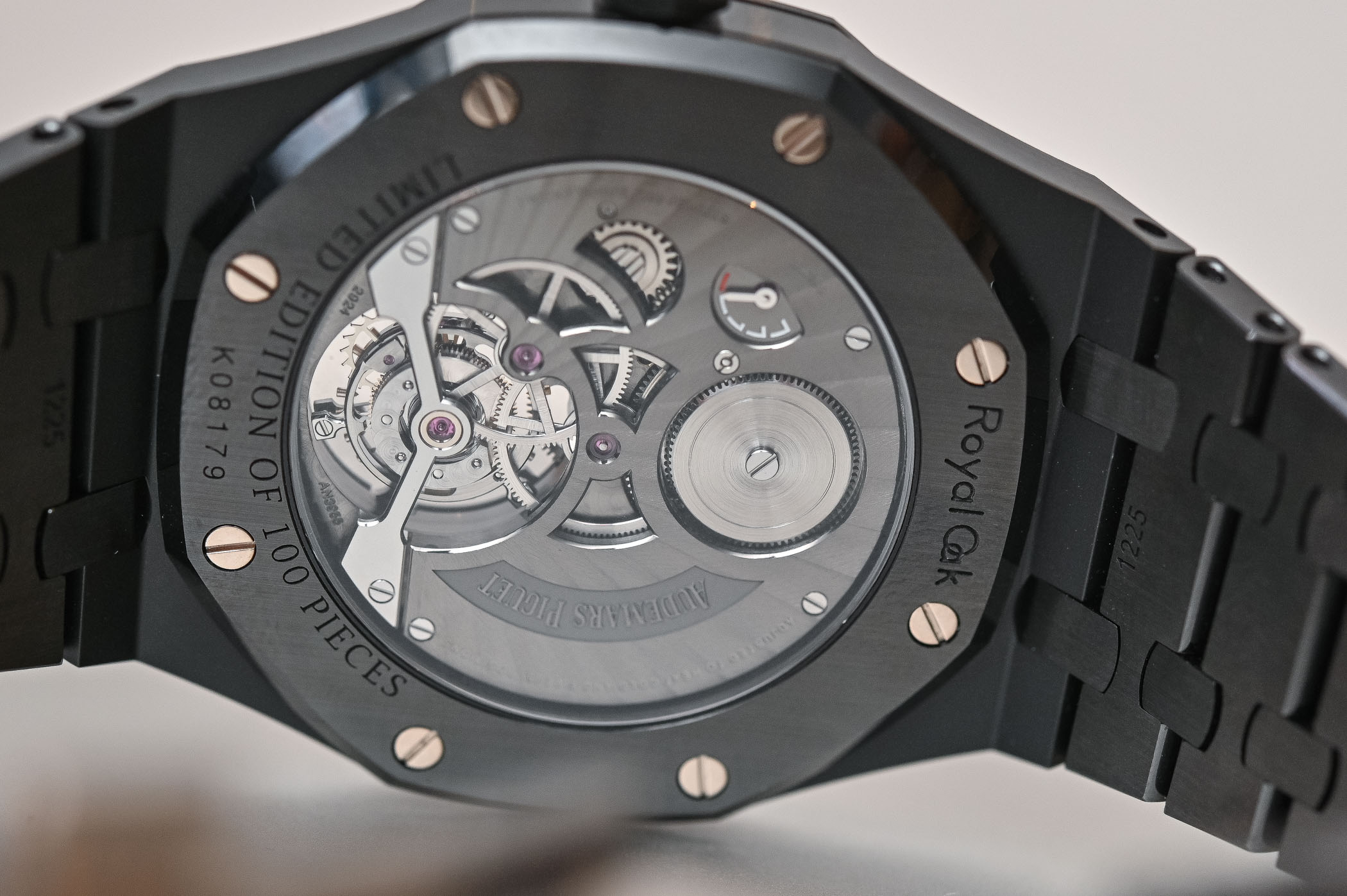 Audemars Piguet Royal Oak Tourbillon Extra-Thin Black Ceramic 26522CE