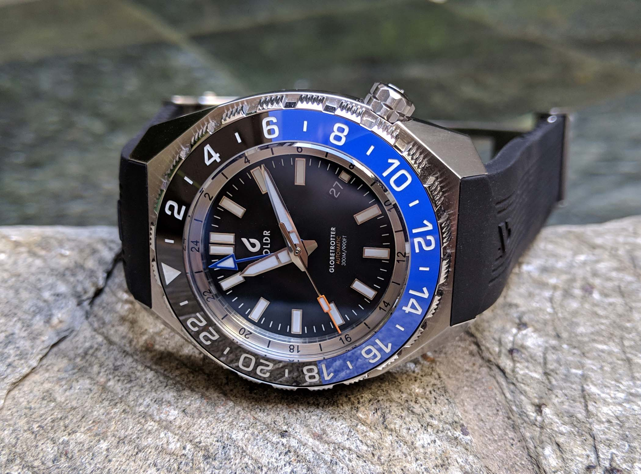 BOLDR Globetrotter GMT review - 4