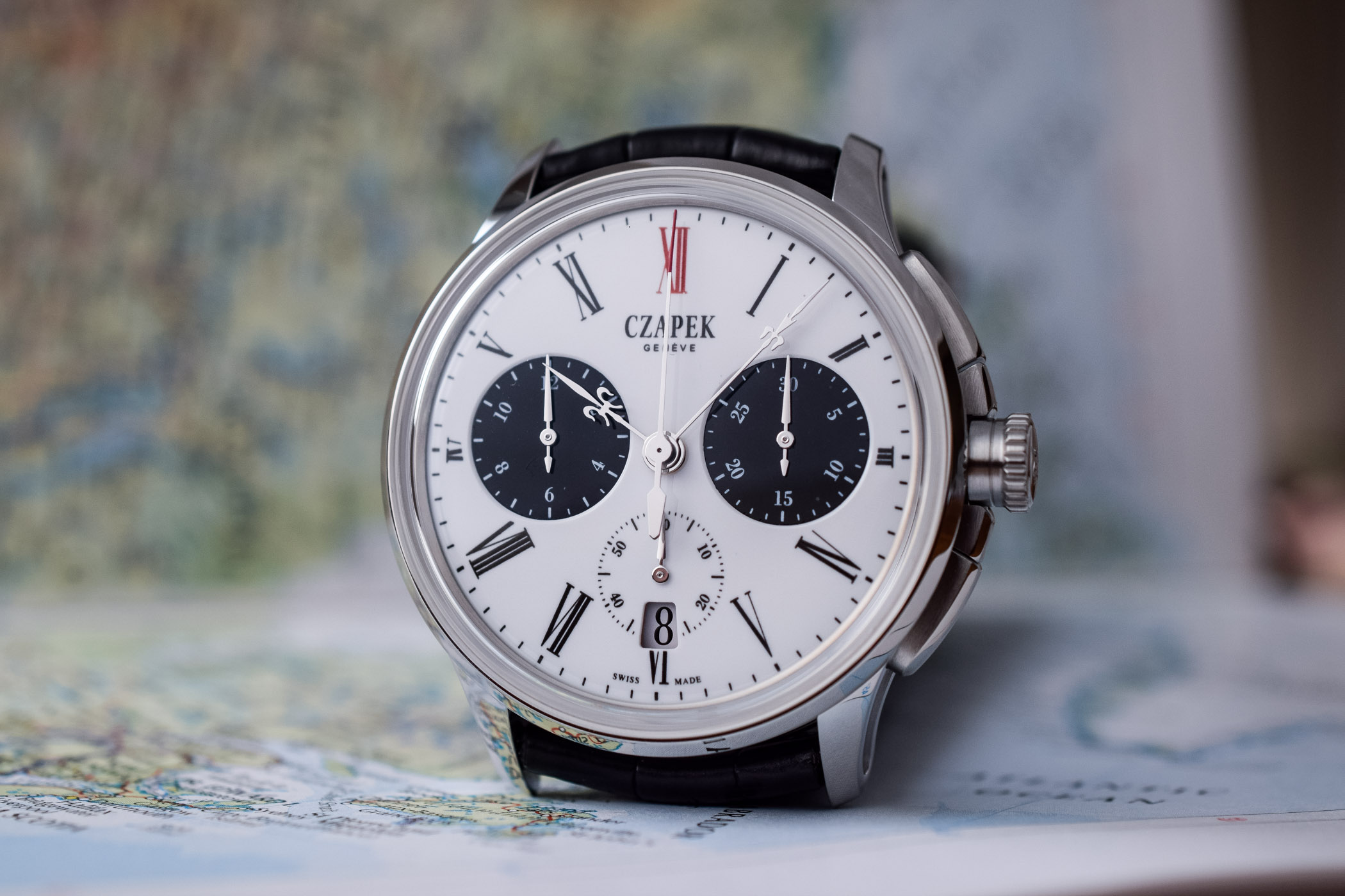 Baselworld 2019 - Czapek Faubourg de Cracovie Chronograph Tao With Panda Enamel Dial - 3