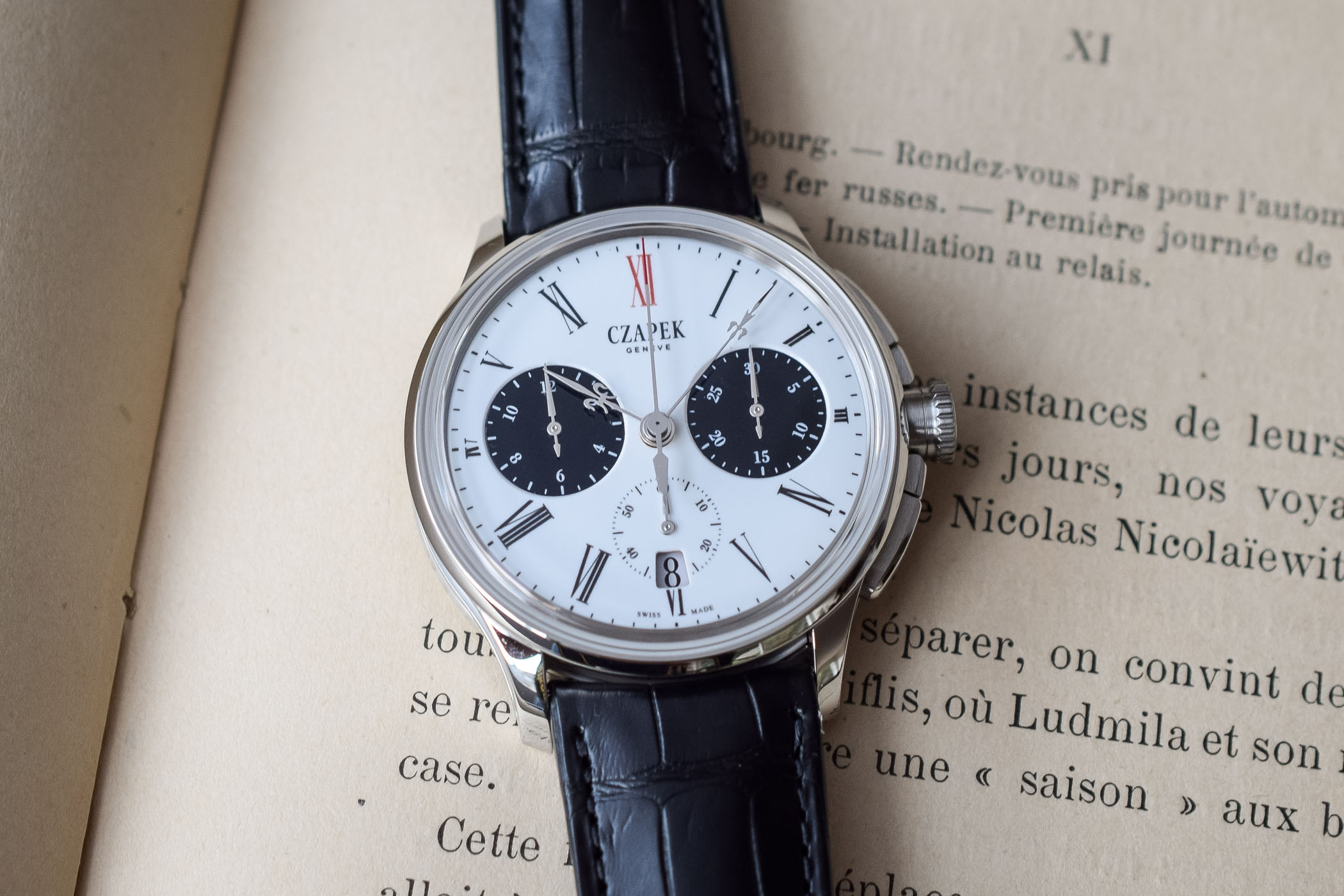 Baselworld 2019 - Czapek Faubourg de Cracovie Chronograph Tao With Panda Enamel Dial - 4