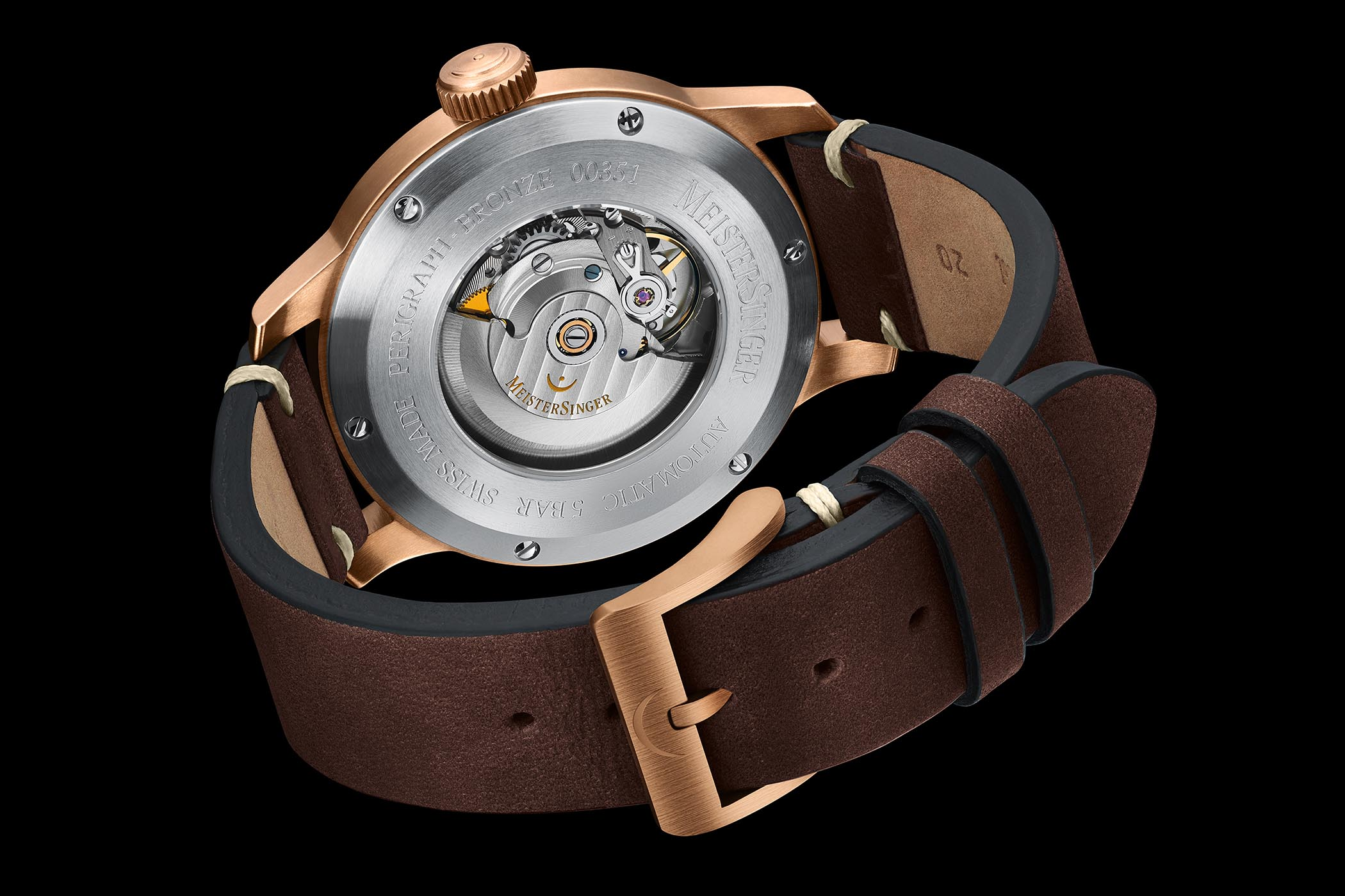 Baselworld 2019 - MeisterSinger Bronze Editions No. 03, Perigraph and Metris - 6