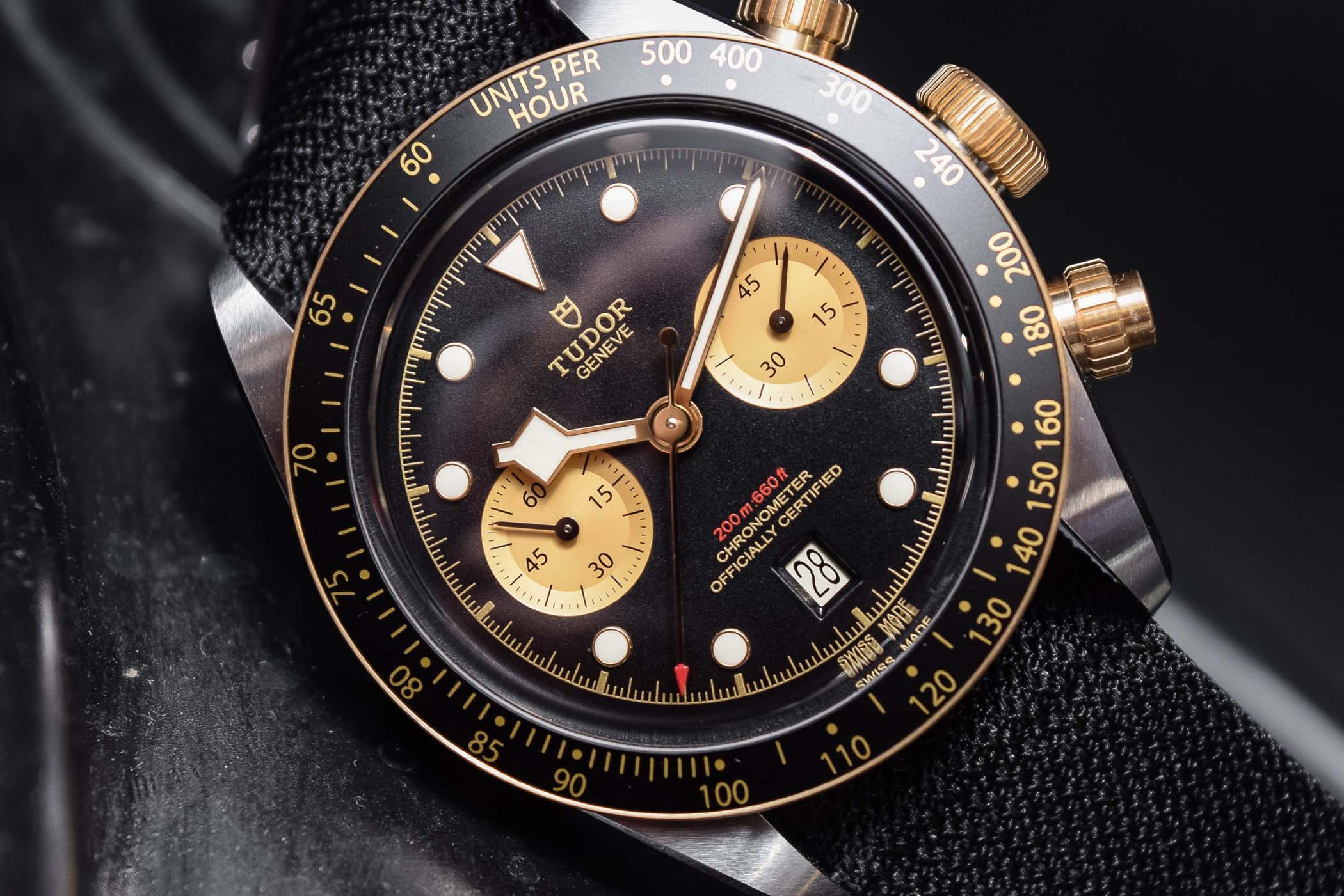Baselworld 2019 Tudor Black Bay Chrono S Amp G 79363n Hands