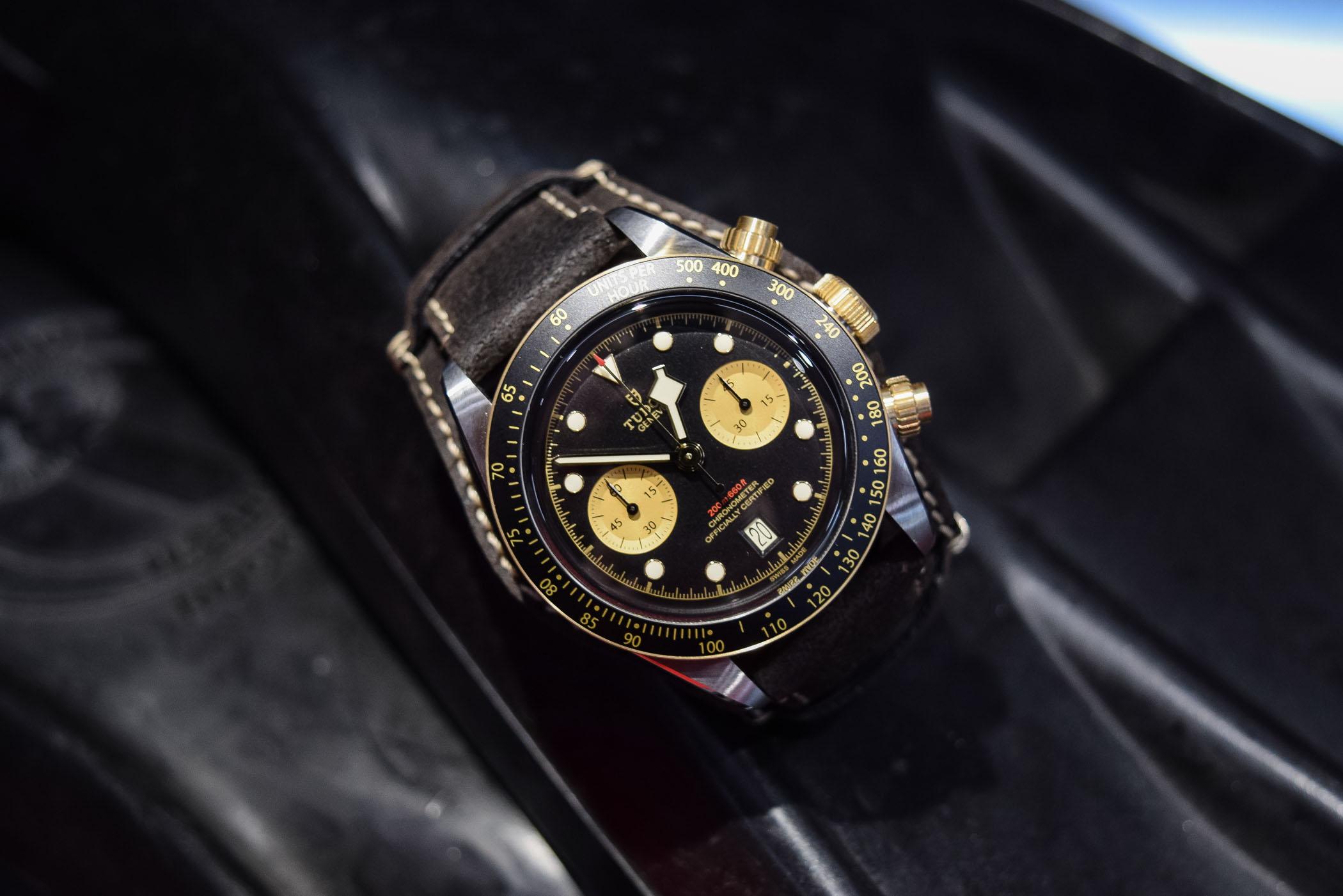 Baselworld 2019 - Tudor Black Bay Chrono steel and gold 79363N - 6