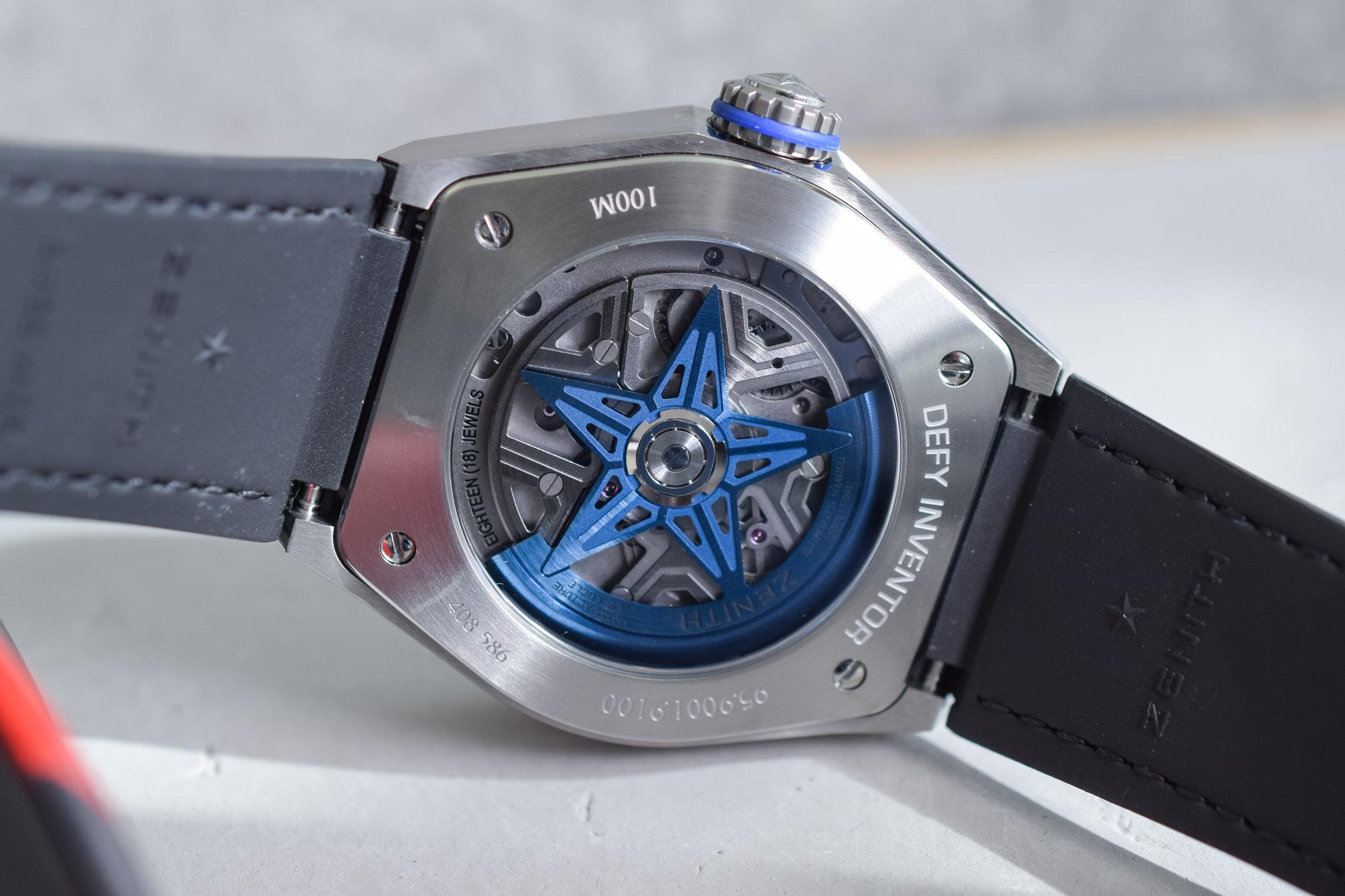 Baselworld 2019 - Zenith Defy Inventor