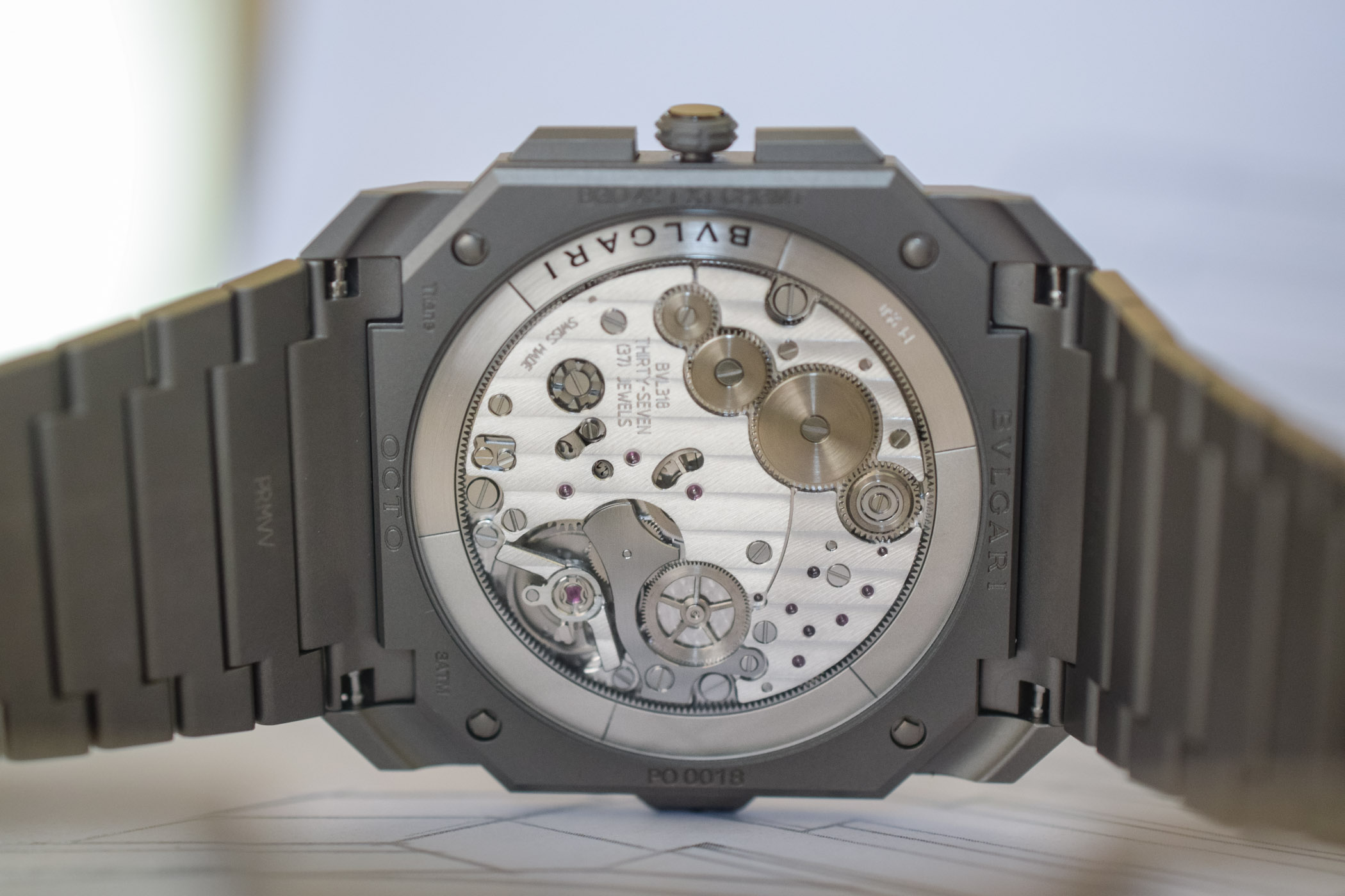 Bulgari Octo Finissimo Chronograph GMT Automatic - Worlds thinnest chronograph - Baselworld 2019
