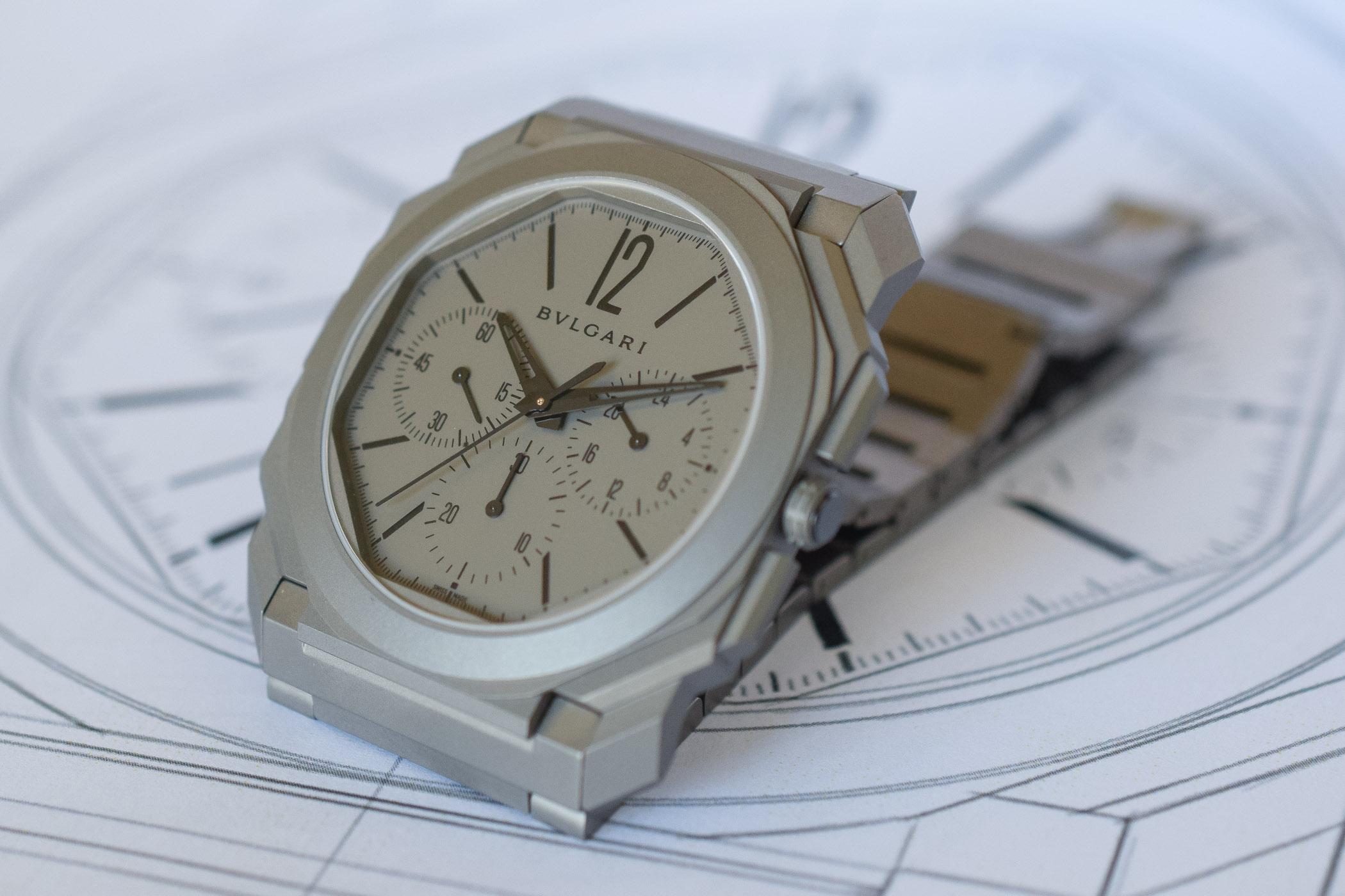 Bulgari Octo Finissimo Chronograph GMT Automatic - Worlds thinnest chronograph - Baselworld 2019