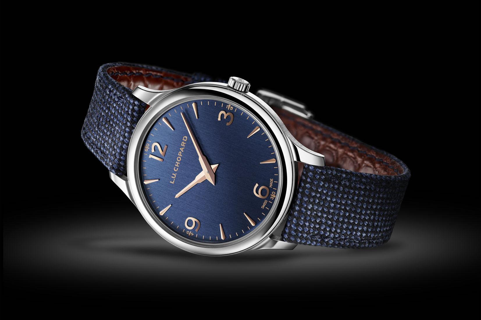 Chopard L.U.C XP Navy Blue Monochrome Watches