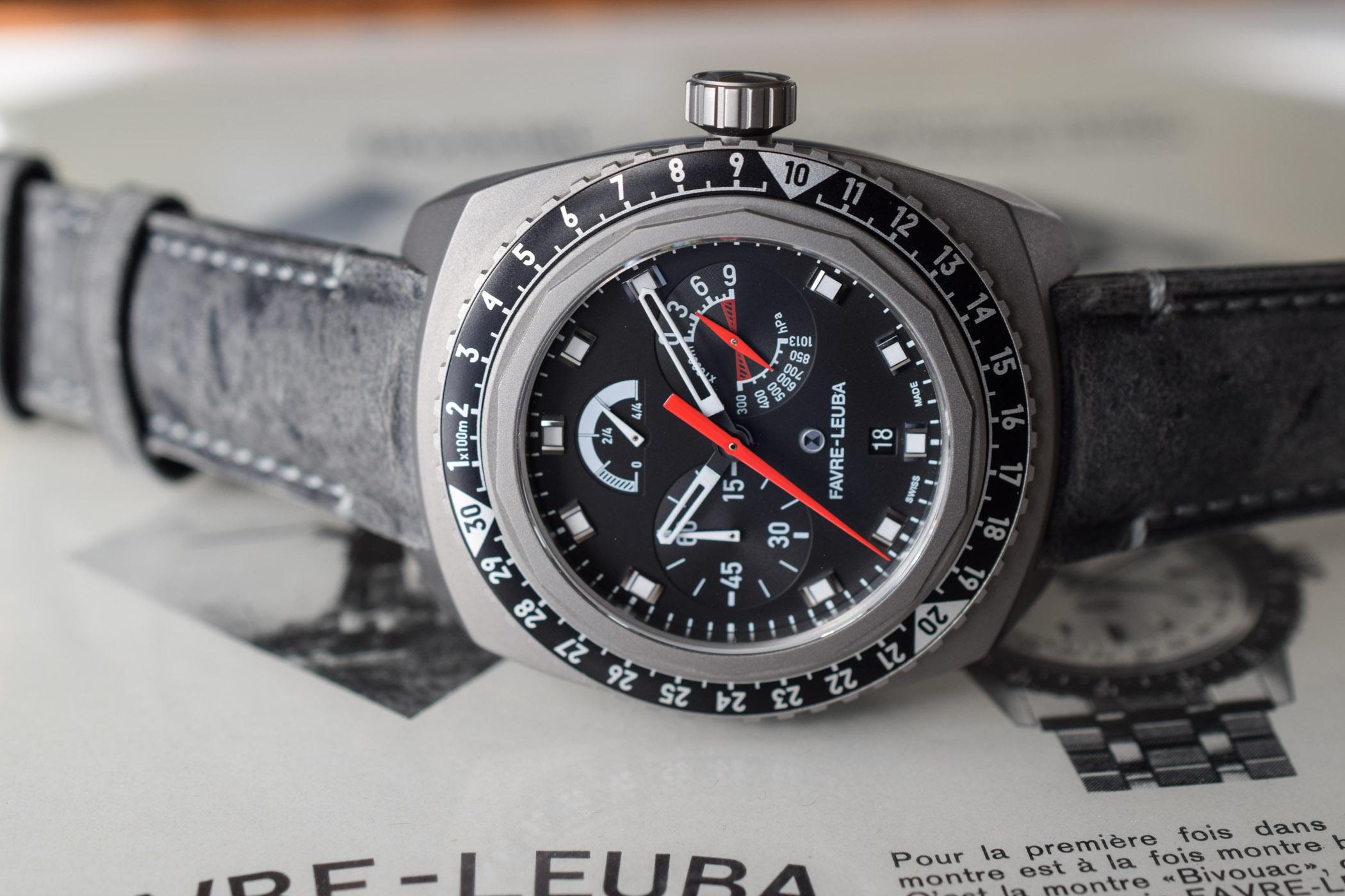 Favre-Leuba Bivouac 9000 Black Edition - 1
