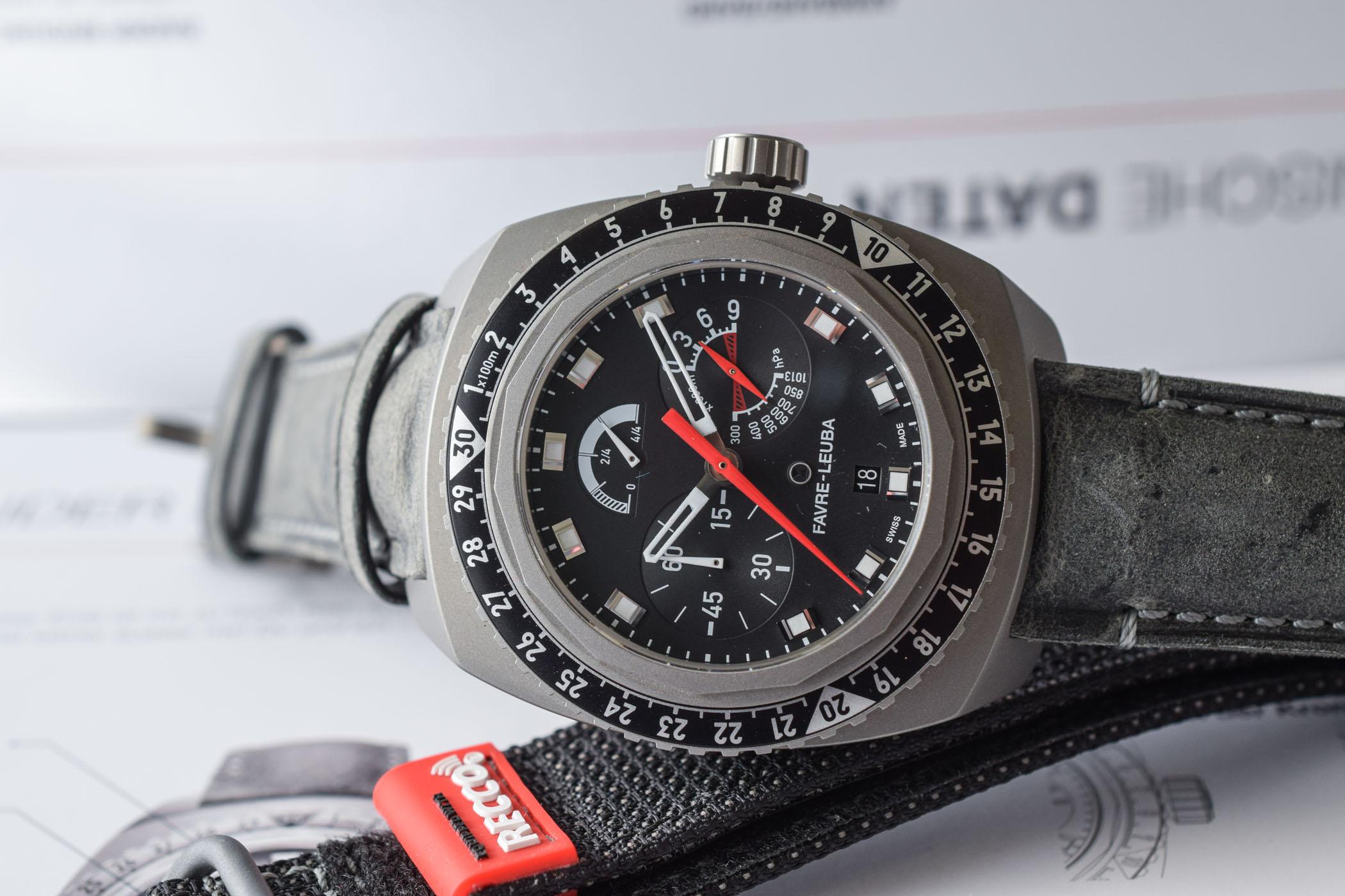 Favre-Leuba Bivouac 9000 Black Edition - 7