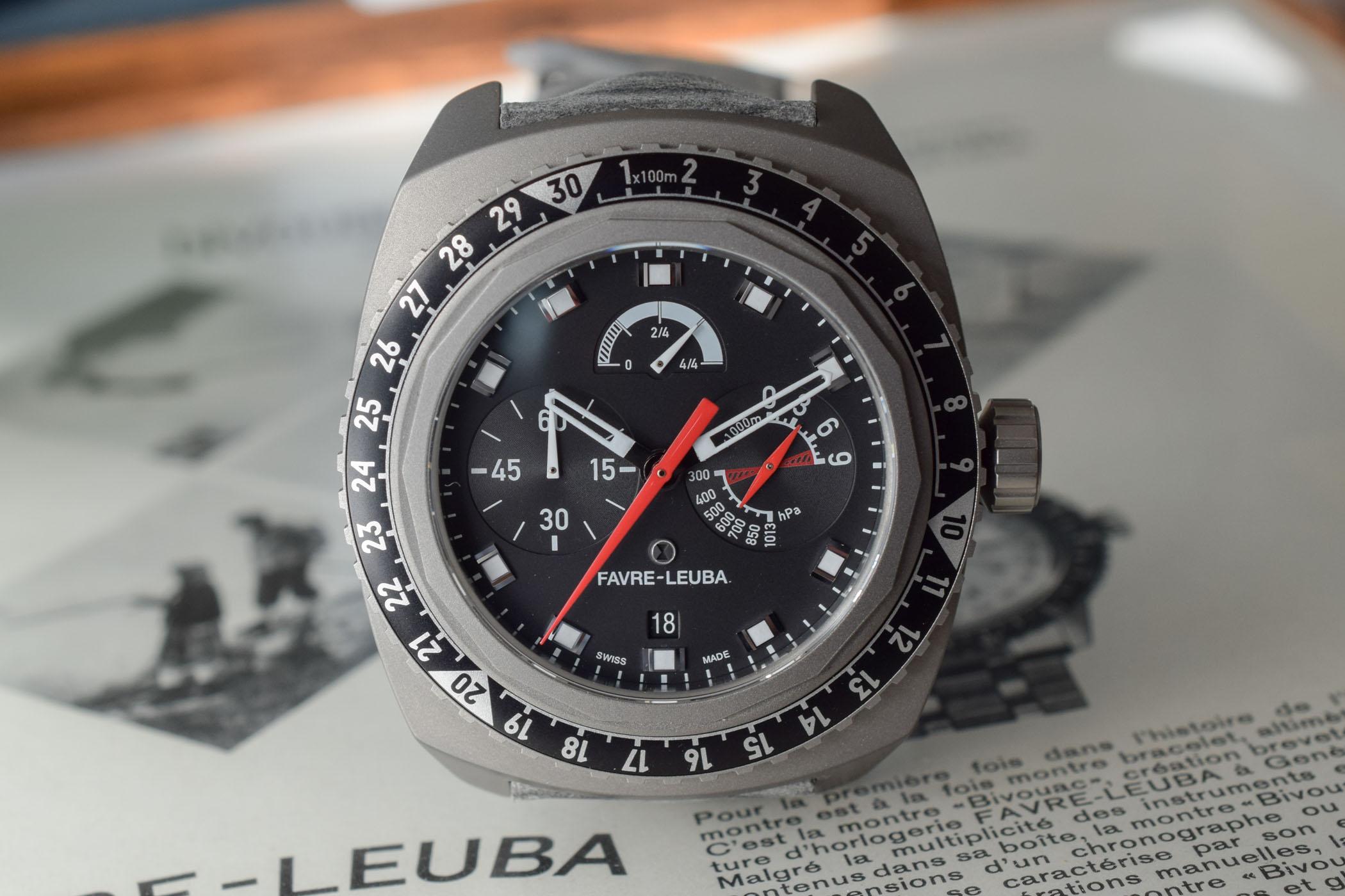 Favre-Leuba Bivouac 9000 Black Edition - 8