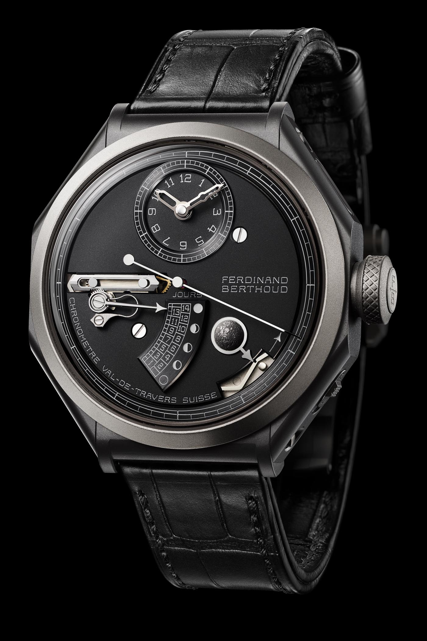 Ferdinand Berthoud Chronometre FB 1L Moon Display - Baselworld 2019 - 2