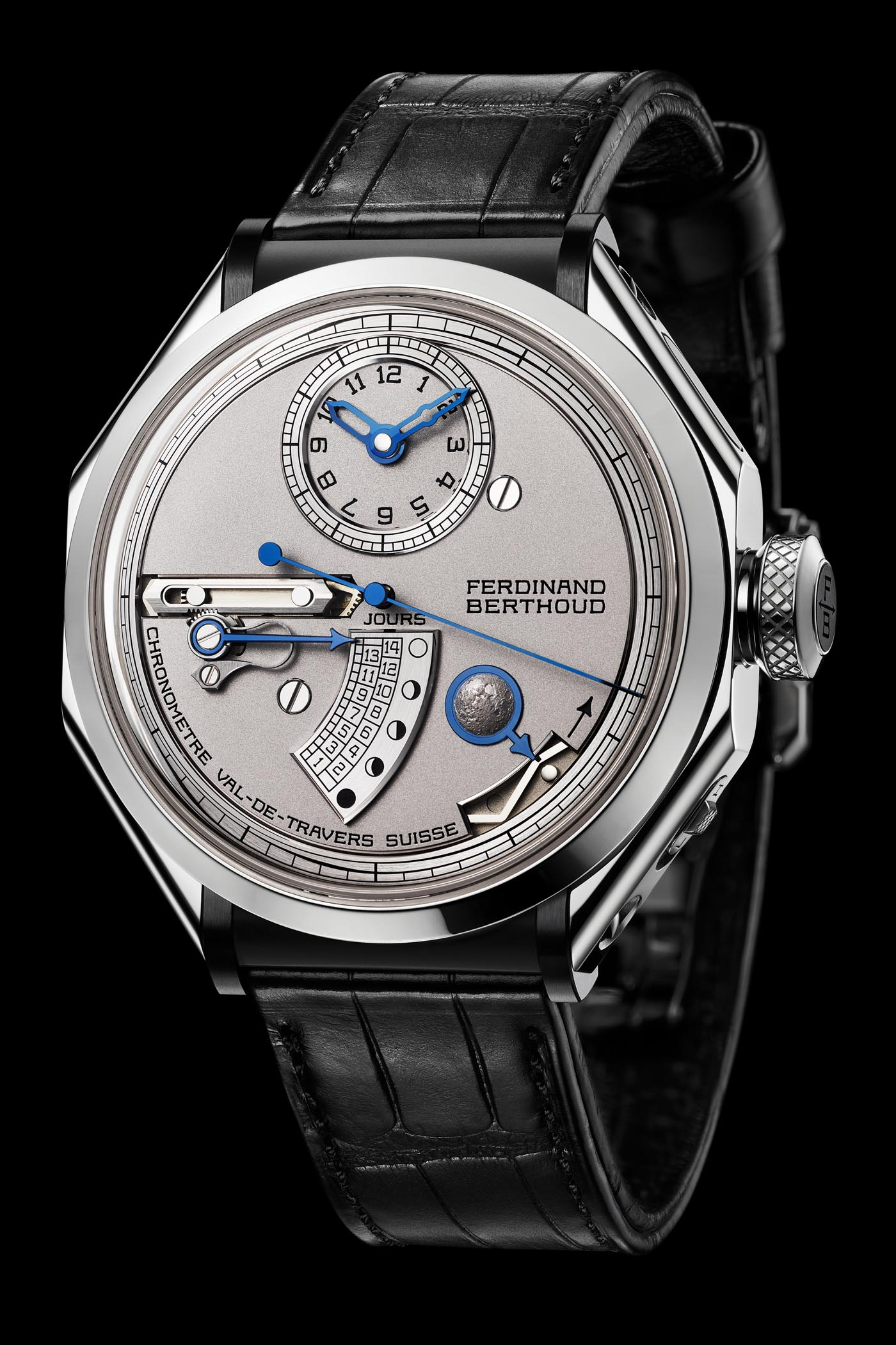 Ferdinand Berthoud Chronometre FB 1L Moon Display - Baselworld 2019 - 3