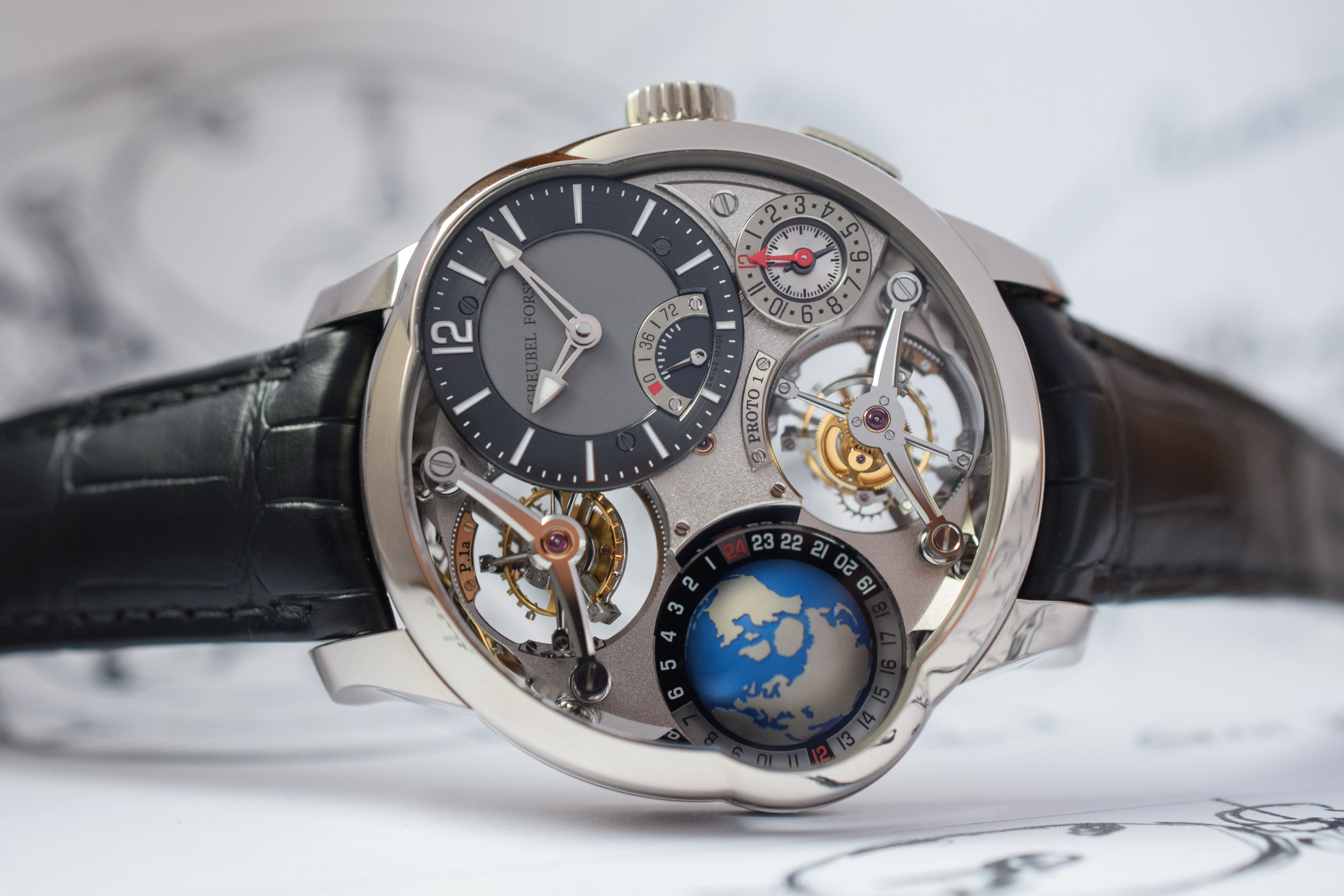 Greubel Forsey GMT Quadruple Tourbillon - Baselworld 2019