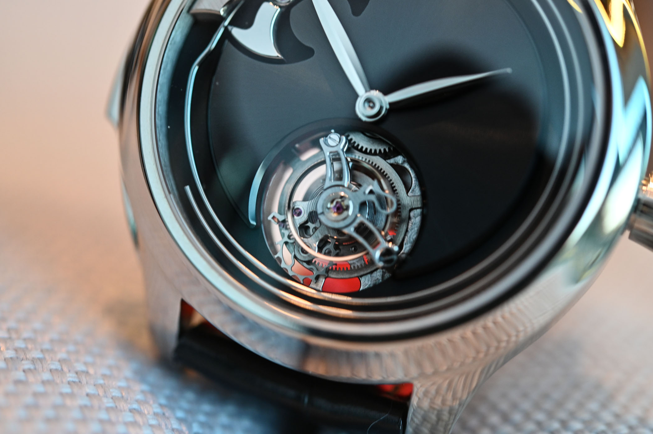 H Moser Cie Endeavour Concept Minute Repeater Tourbillon - Baselworld 2019 - 5
