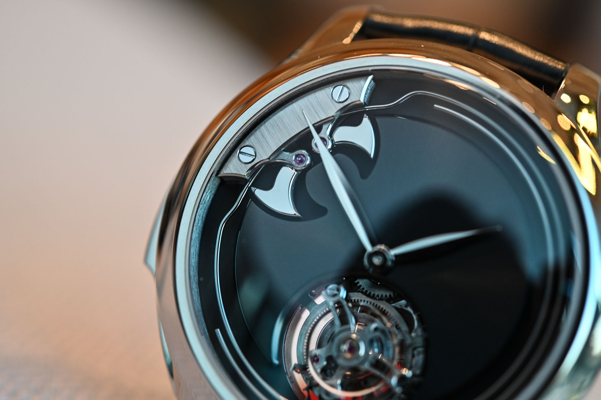 H Moser Cie Endeavour Concept Minute Repeater Tourbillon - Baselworld 2019 - 6