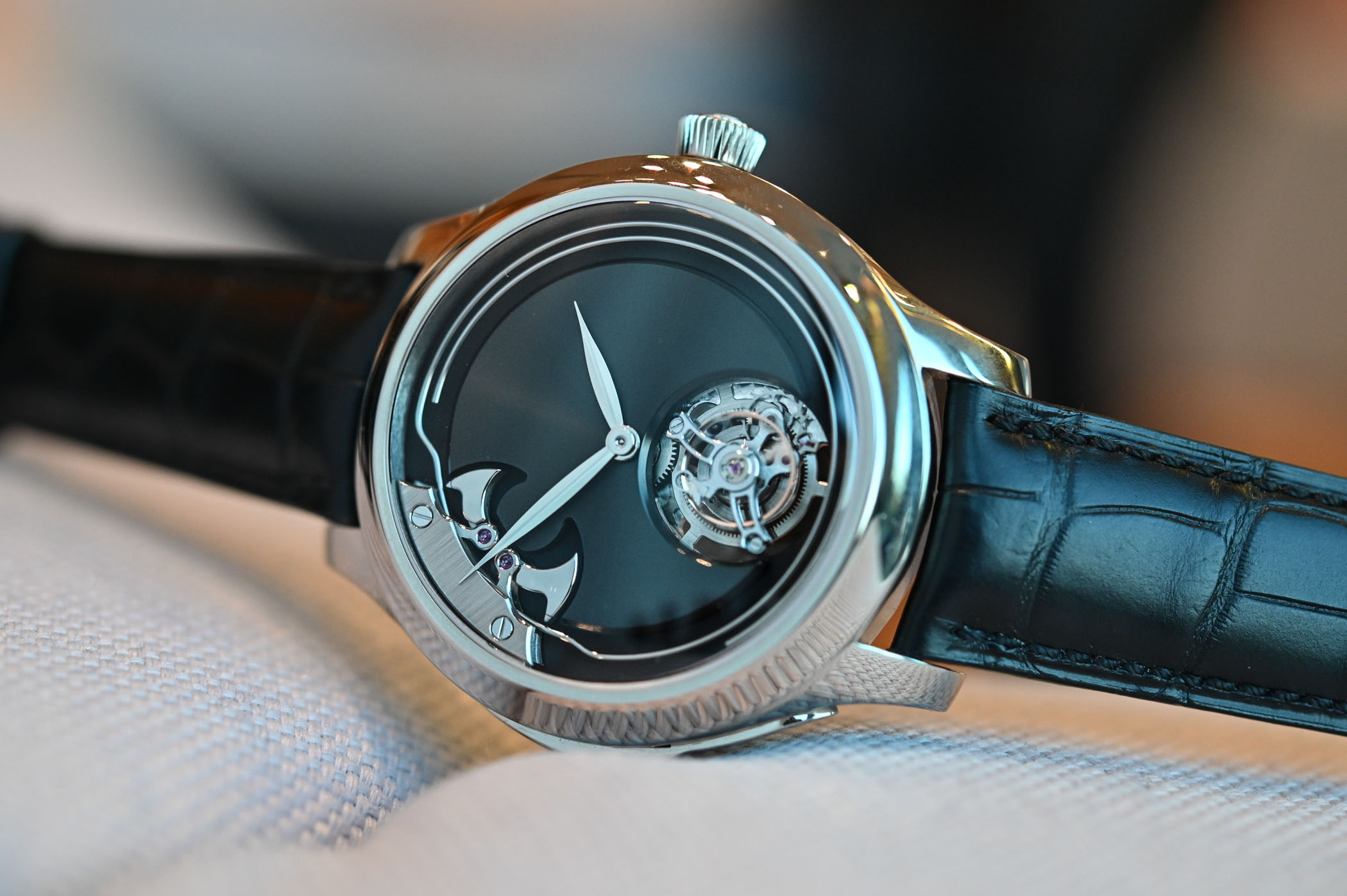 H Moser Concept Minute Repeater Tourbillon