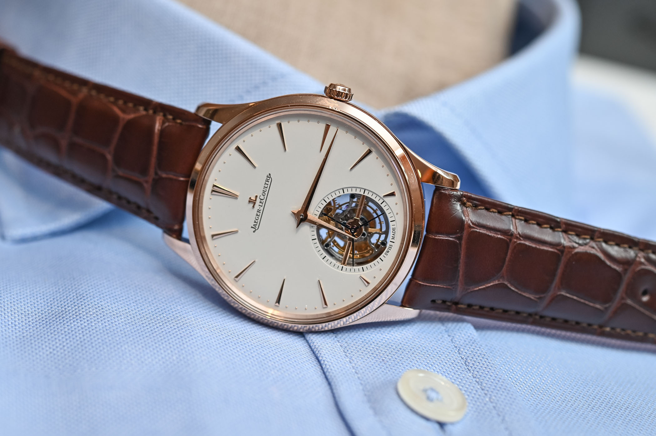 Jaeger-LeCoultre Master Ultra Thin Tourbillon Pink Gold 2019 - 1