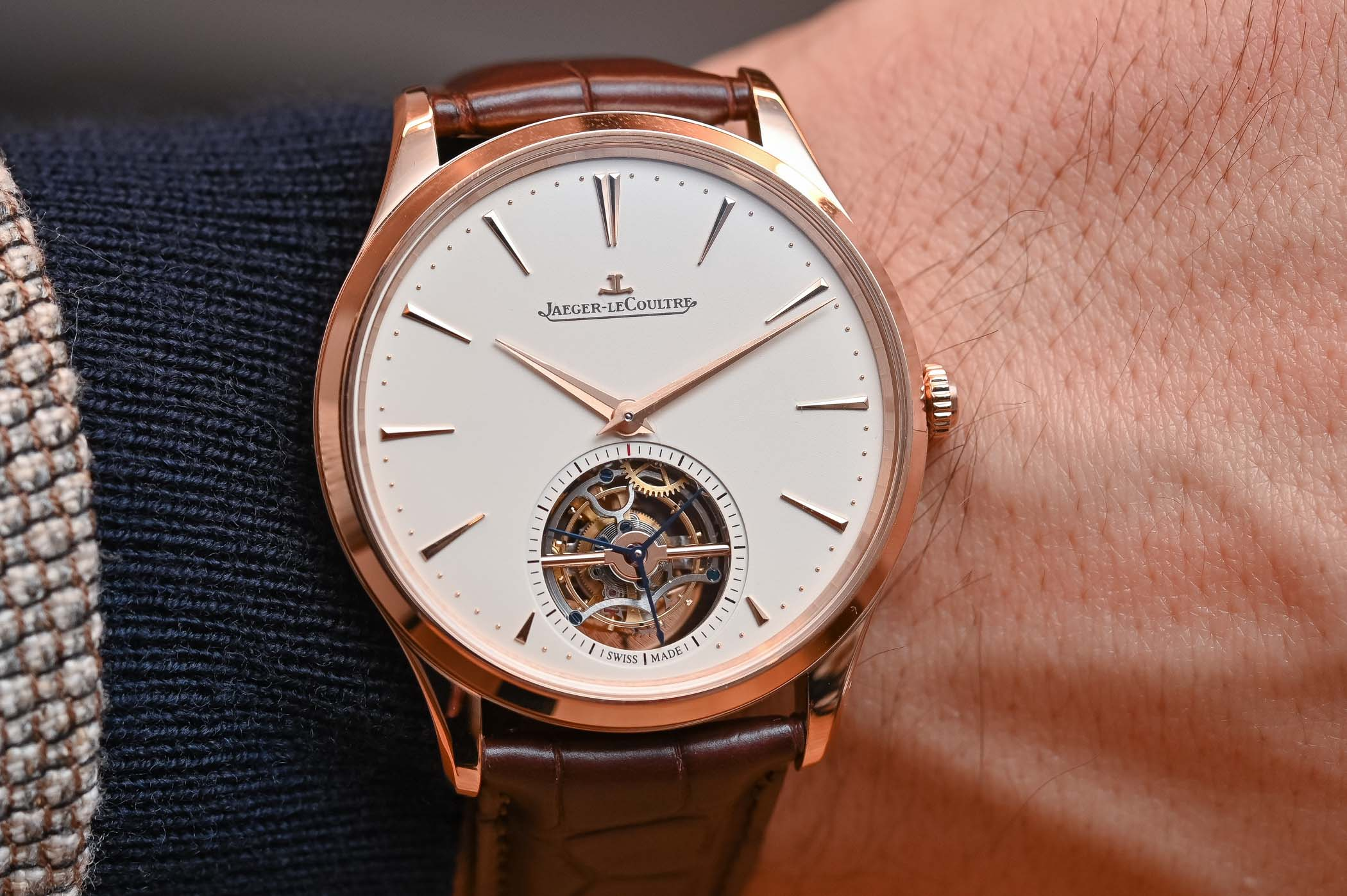 Jaeger-LeCoultre Master Ultra Thin Tourbillon Pink Gold 2019 - 2
