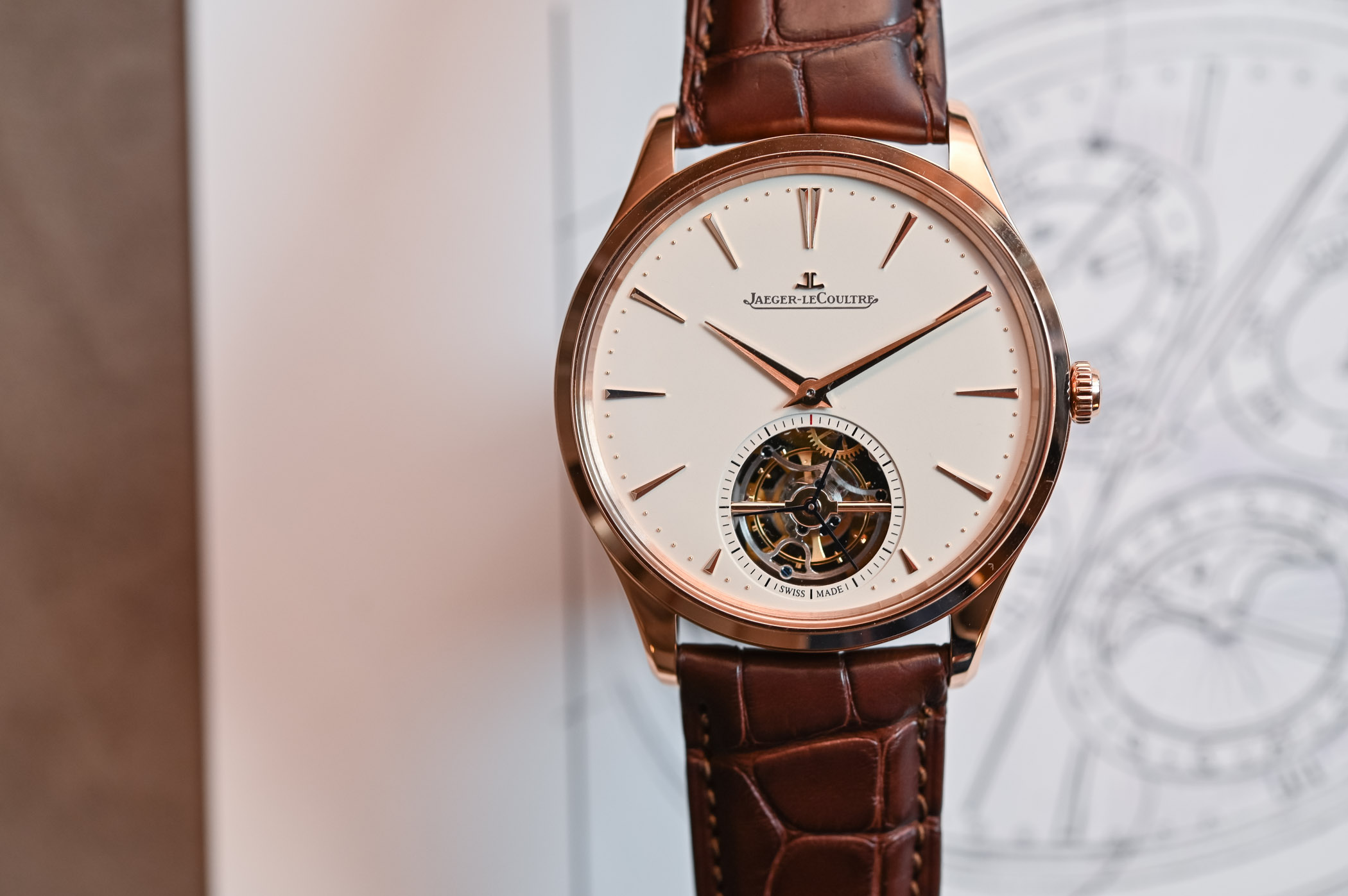 Jaeger-LeCoultre Master Ultra Thin Tourbillon Pink Gold 2019 - 7
