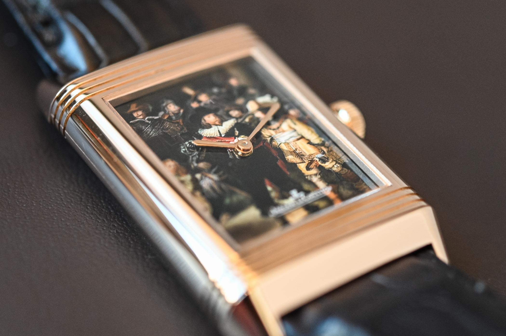 Jaeger-LeCoultre Reverso tribute to Rembrandt - 4