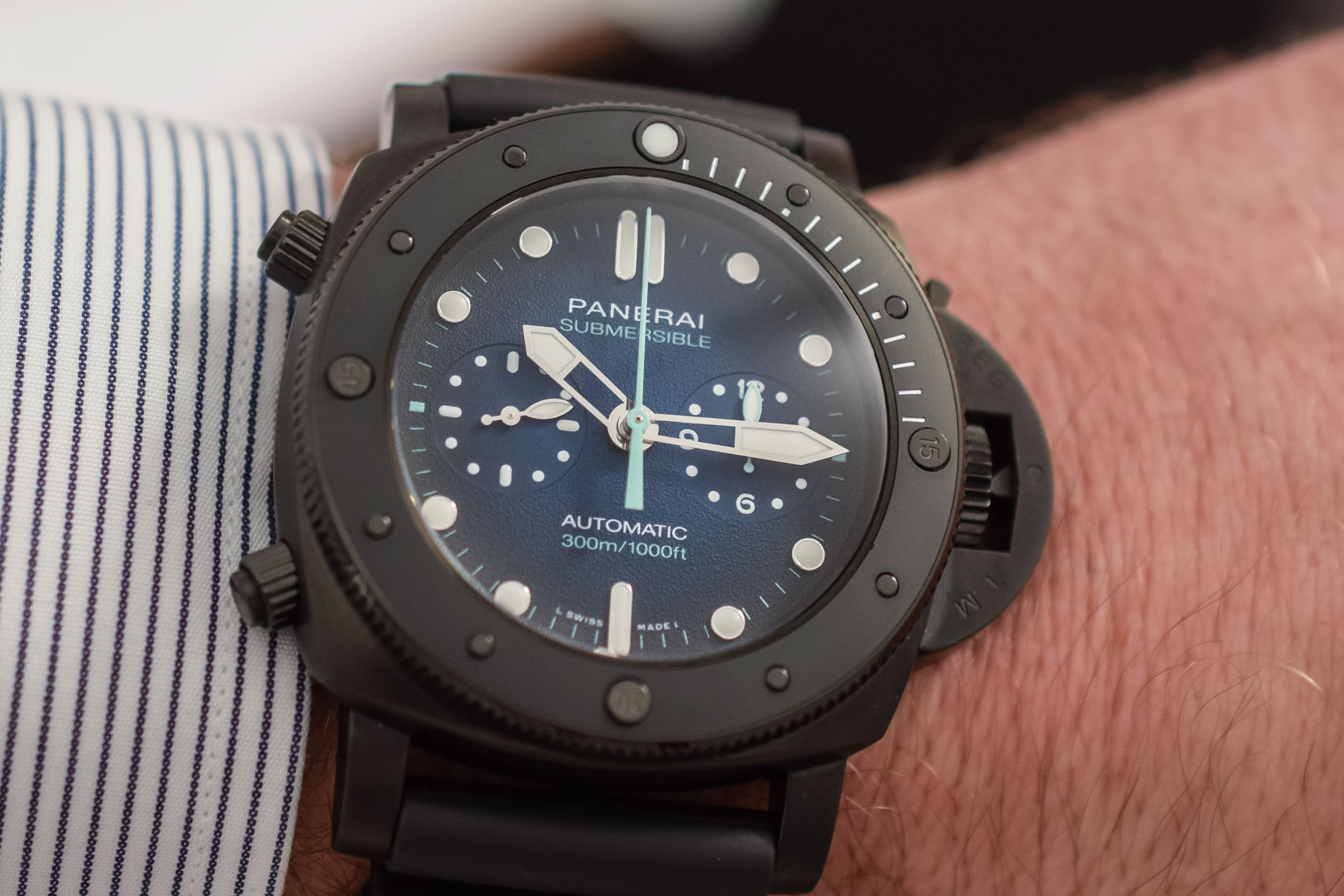 Panerai Submersible Chrono Guillaume Nery Edition PAM00983 - 2