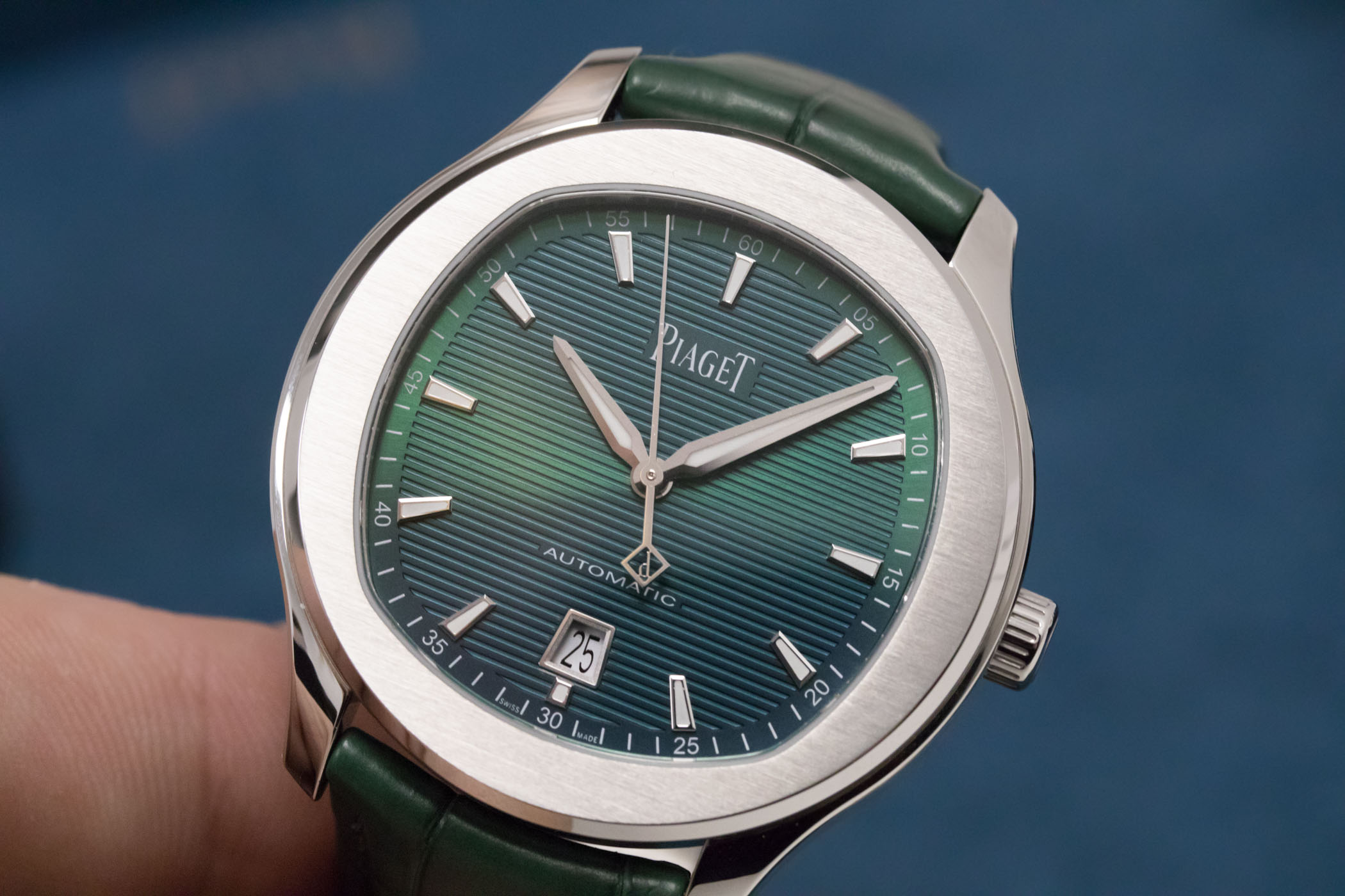 Piaget Polo S Green Dial - SIHH 2019 review - 8