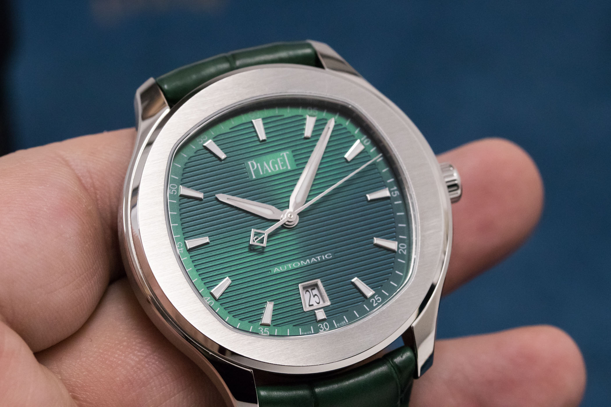 Piaget Polo S Green Dial - SIHH 2019 review - 9