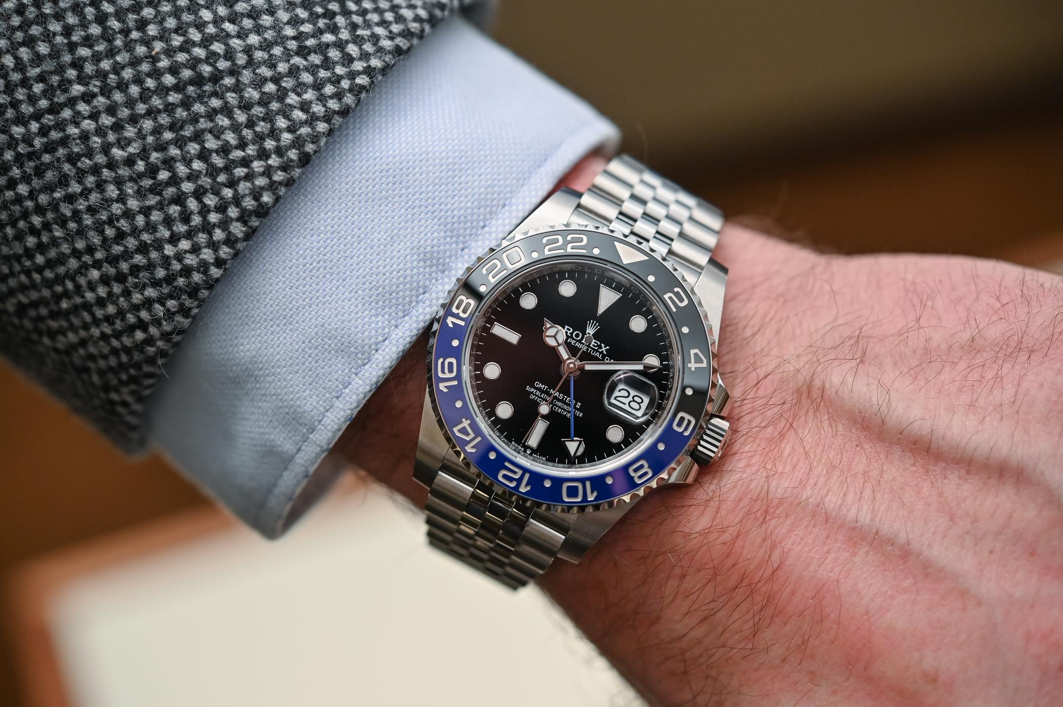 Rolex GMT Master II 126710BLNR Batman Jubilee - Review - 1