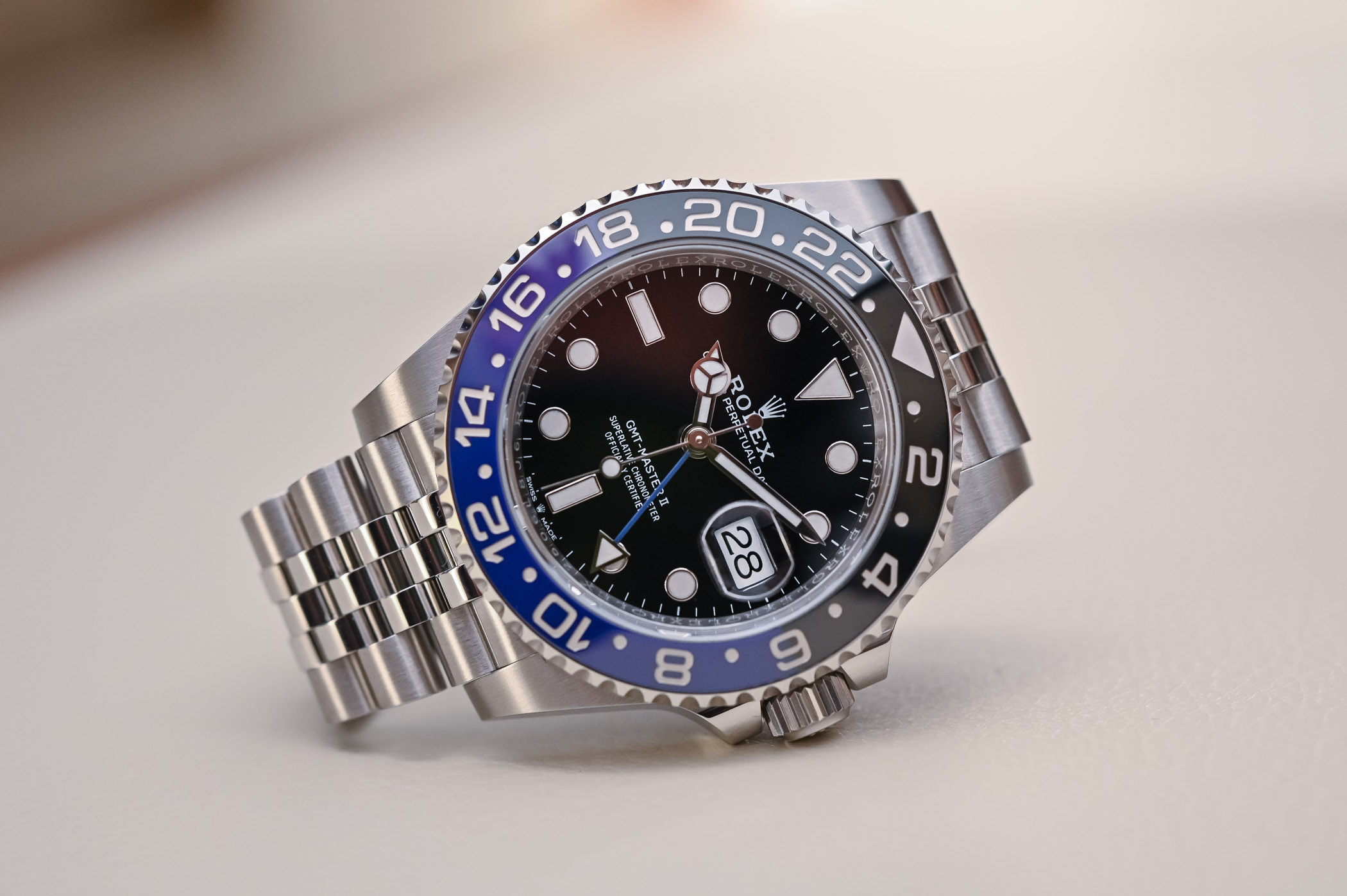 Rolex GMT Master II 126710BLNR Batman Jubilee - Review - 2