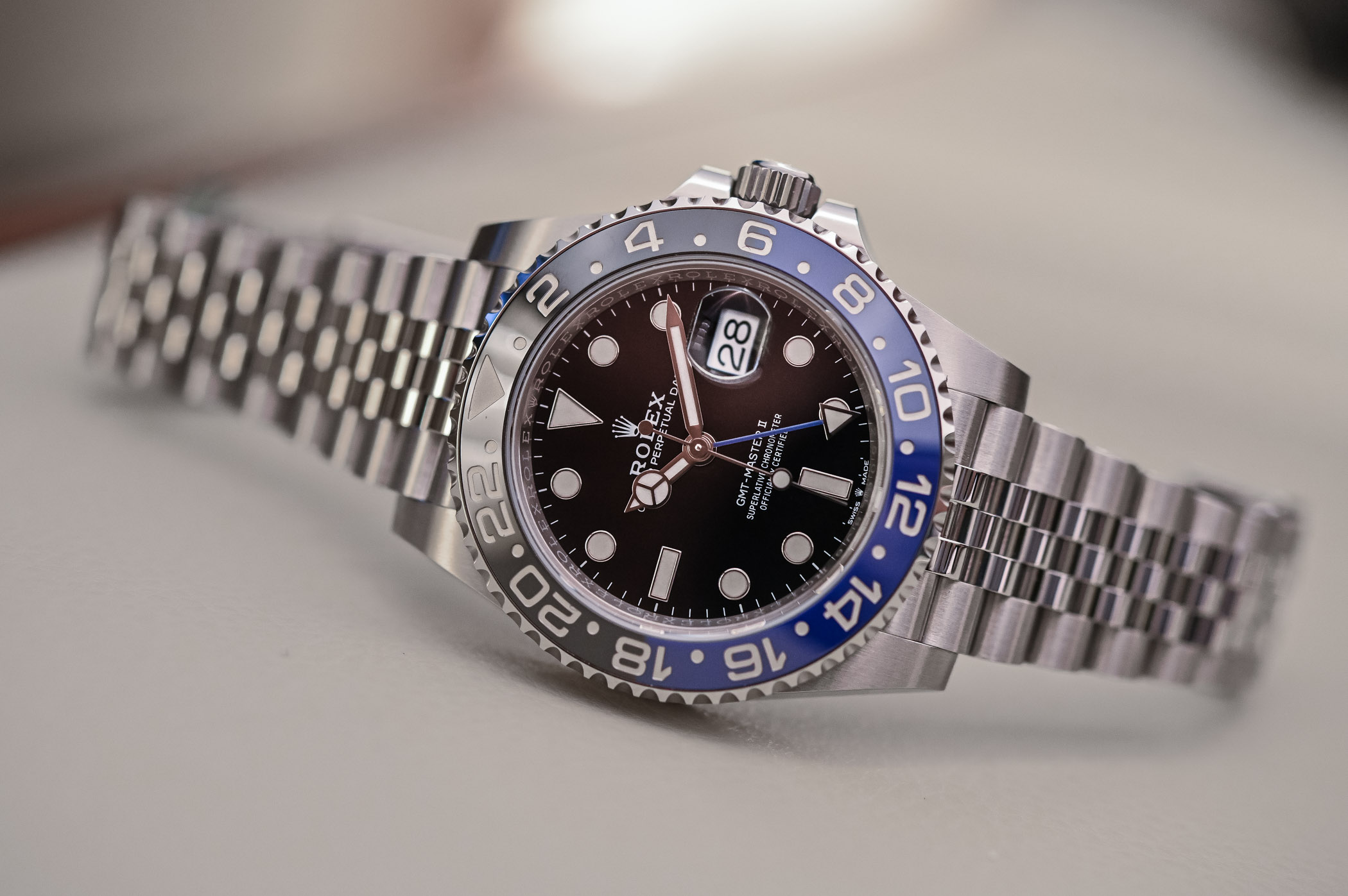 Rolex GMT Master II 126710BLNR Batman Jubilee - Review - 6