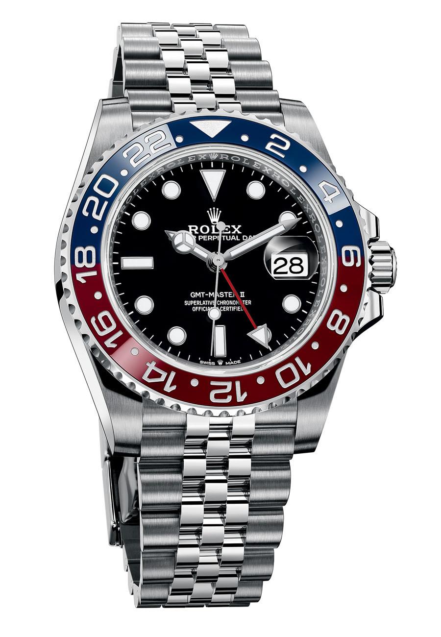 Rolex GMT Master II 126710BLRO pepsi steel jubilee