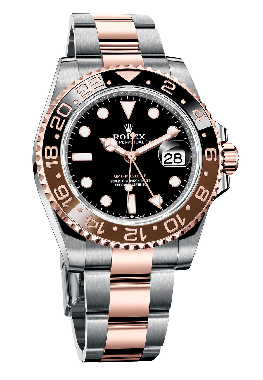 Rolex GMT Master II 126711CHNR root beer