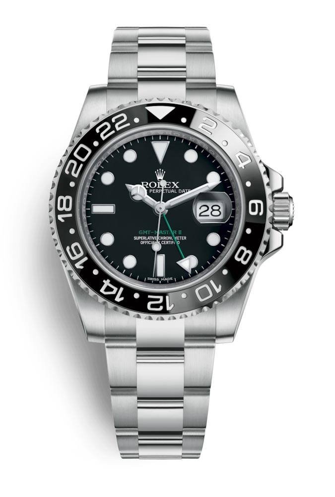 Rolex GMT Master II Black 116710LN